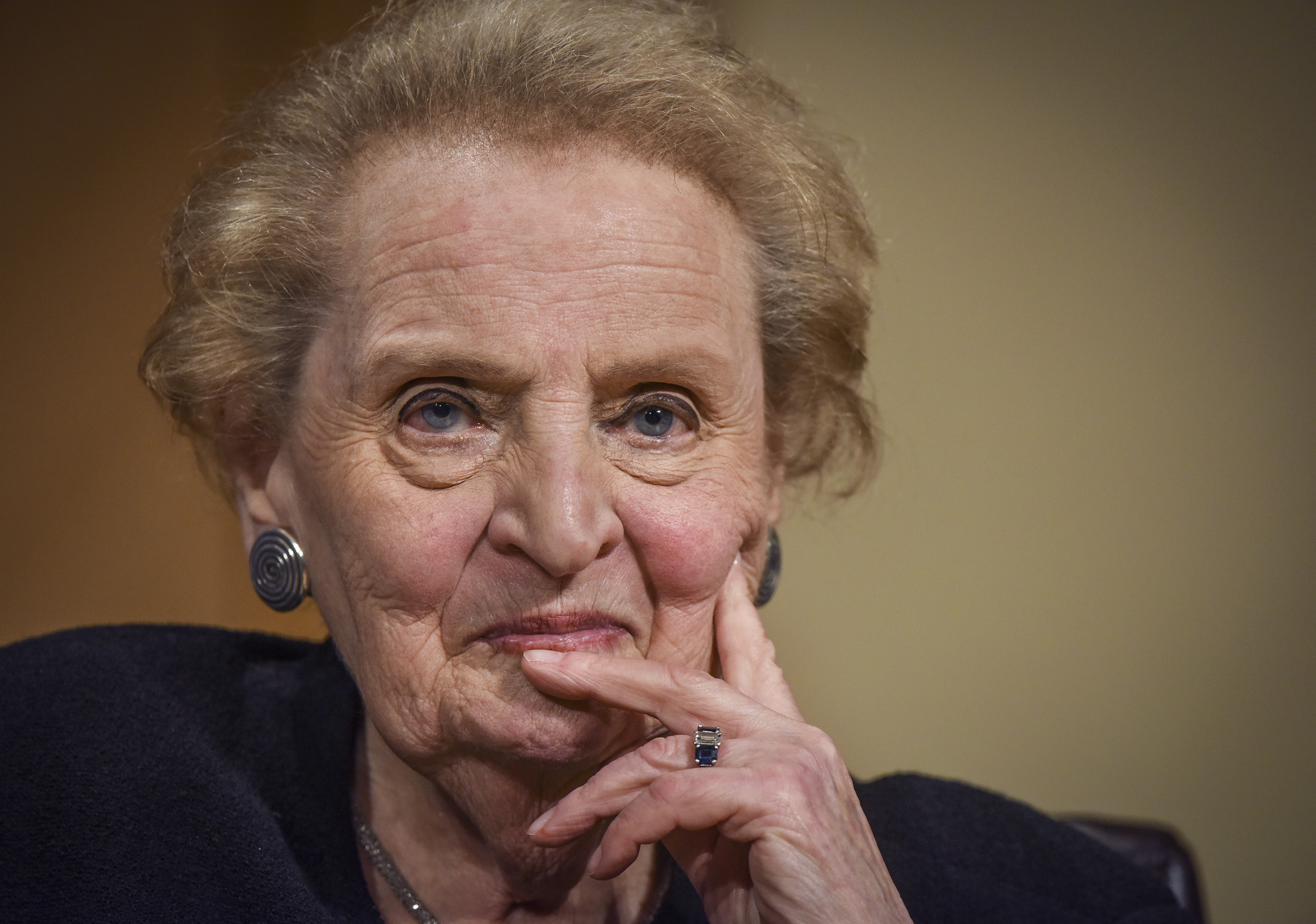 Former U.S. Secretary of State Madeleine Albright participates in a moderated conversation about her new book.