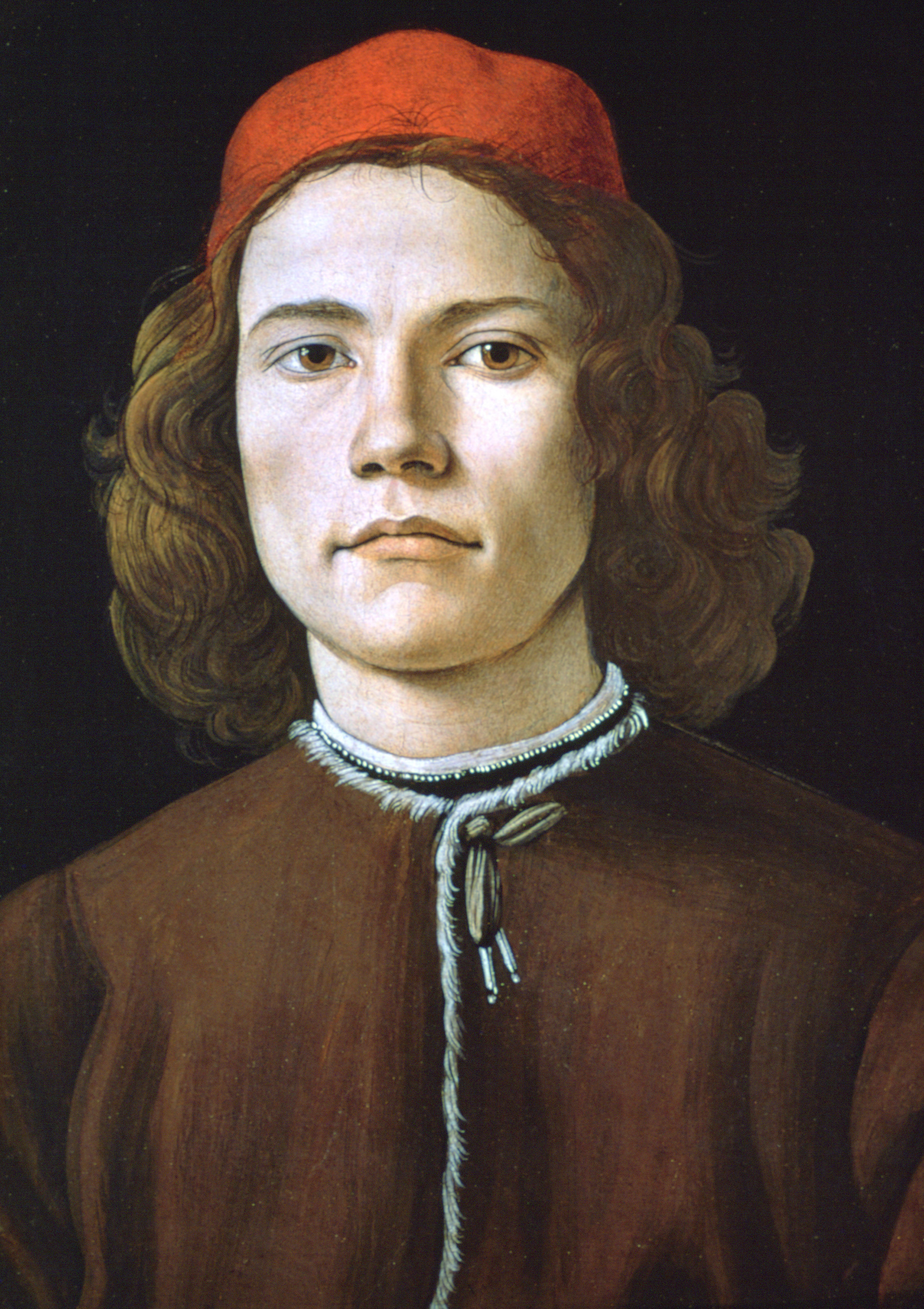 'Portrait of a Young Man', c1480-1485. From the collection of the National Gallery, London.