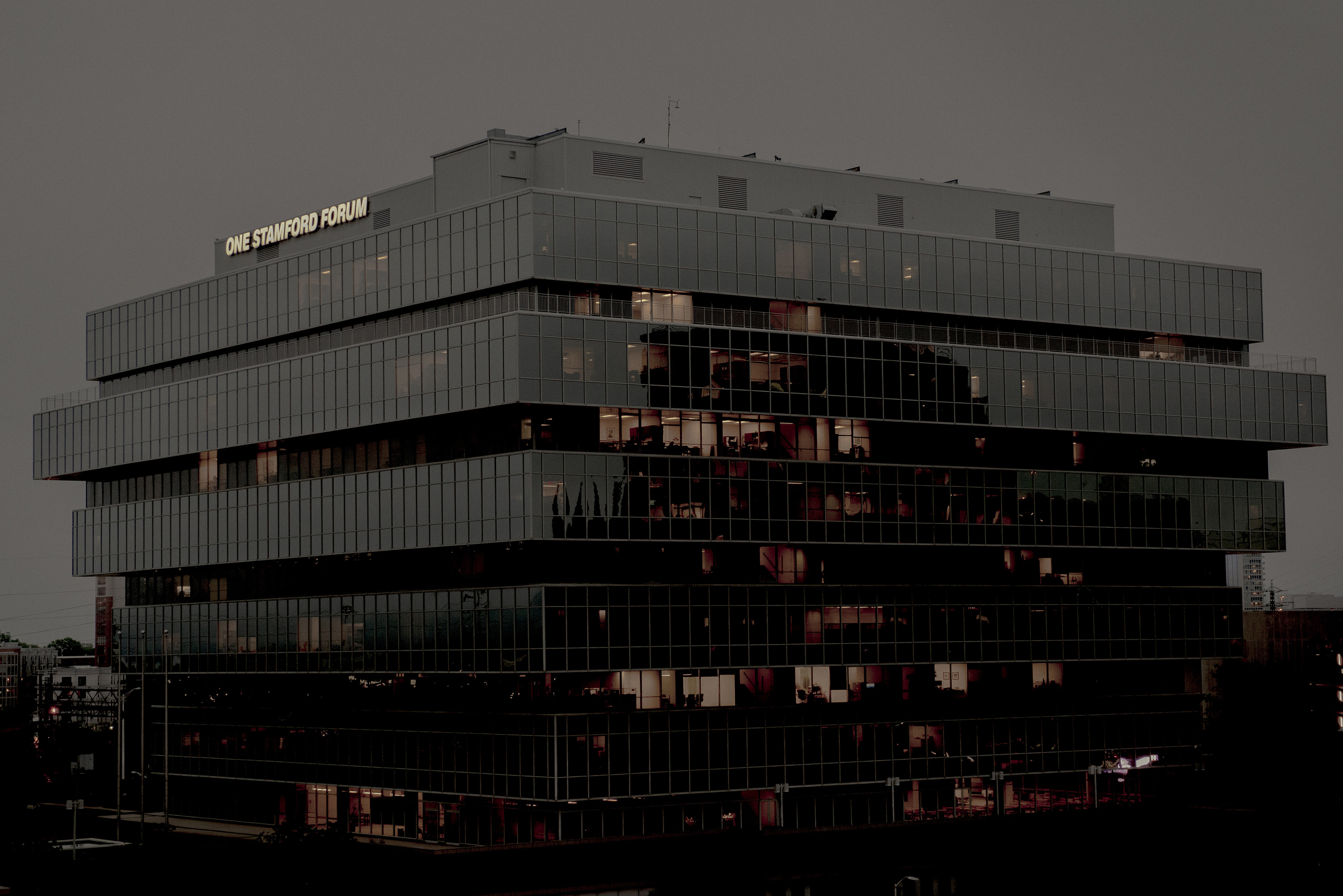 The headquarters of Purdue Pharma in Stamford, Conn., May 23, 2018. States and cities have filed lawsuits against Purdue Pharma and other opioid manufacturers and distributors.