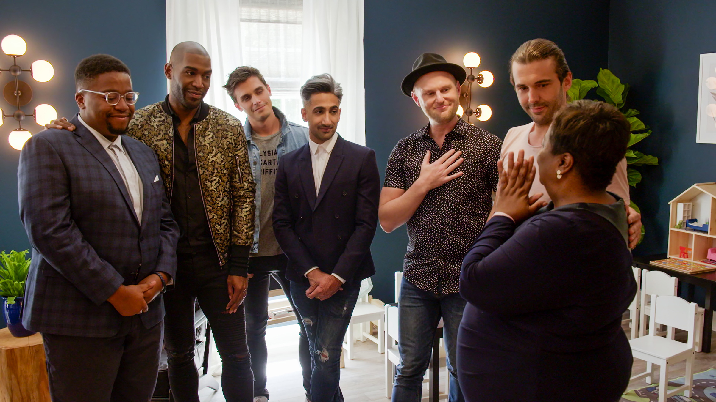 Moving moments: the Fab Five work their magic on Queer Eye