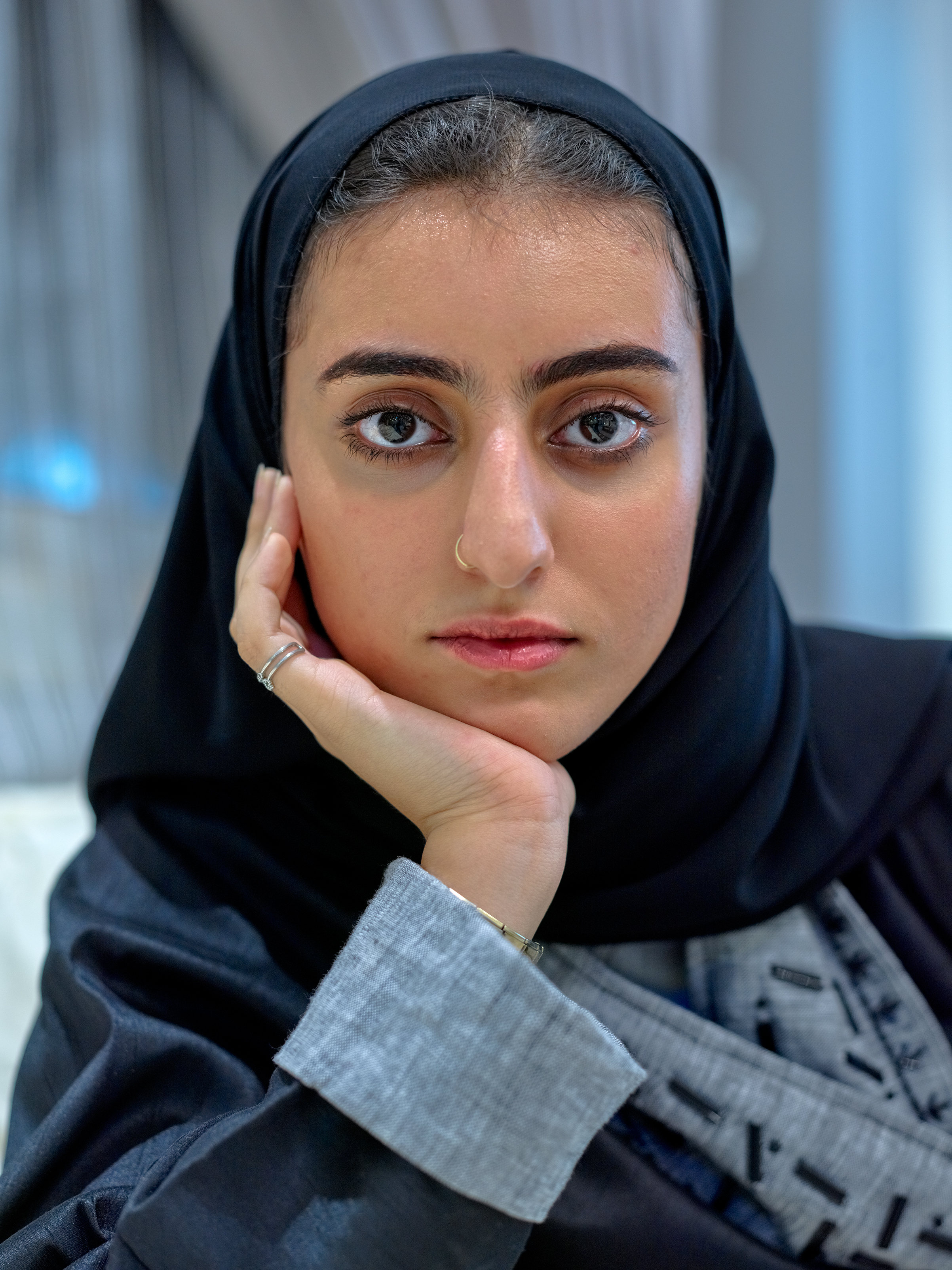 "AlJohara, 18, is applying to study political science and wants to be a politician. She spoke plainly about life under MBS and expressed appreciation for what has been done for Saudi women over the past year. When it came to social media, she said, ""These days you can't arrest every woman who tweets. It is too many voices in one second."""