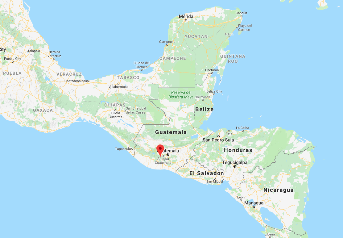 The Fuego volcano is 27 miles southwest of Guatemala City.