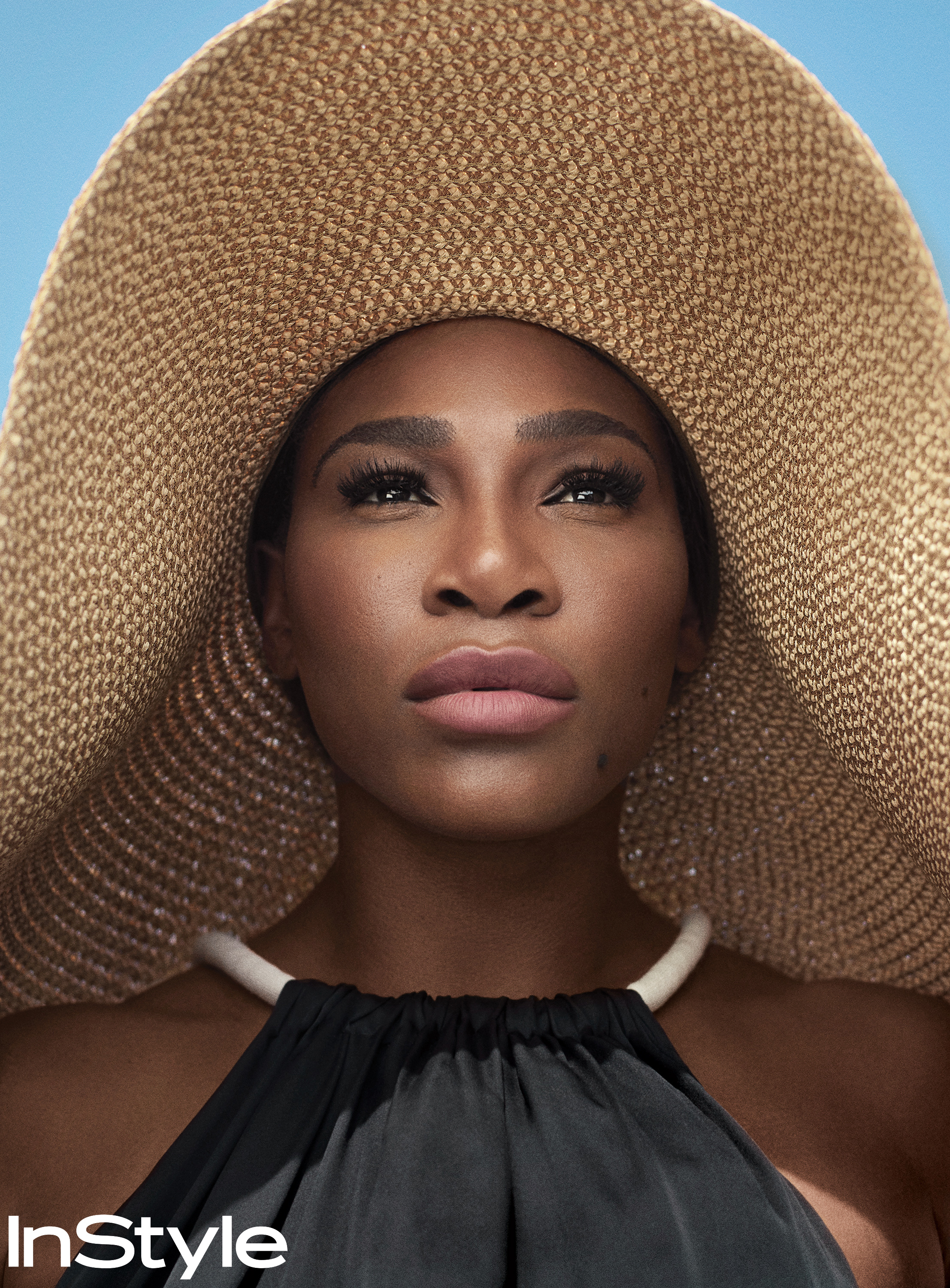 Serena Williams on the cover of InStyle's inaugural Badass Women issue.