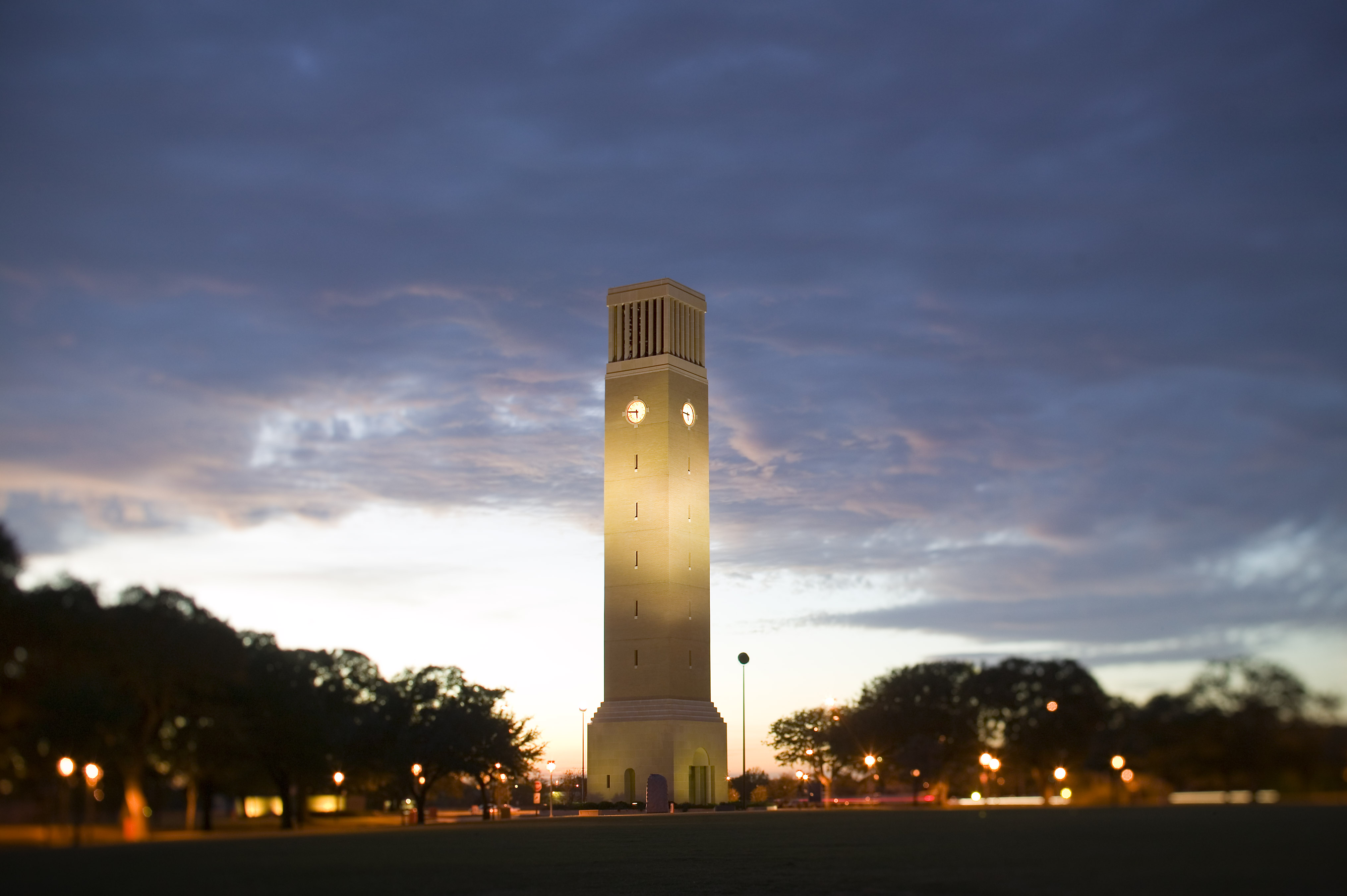 COLLEGE STATION, TX - NOVEMBER 24:  Albritton Tower on the campus of theTexas A&M University on November 24, 2005 in College Station, Texas.   (Photo by Wesley Hitt/Getty Images)