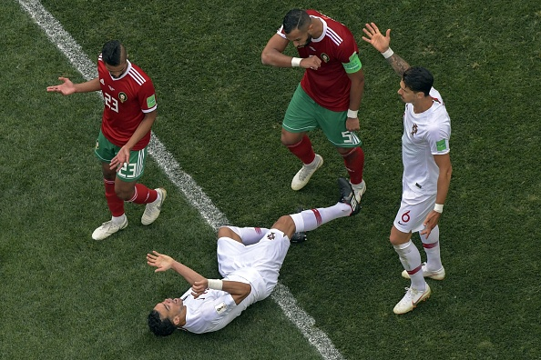 World Cup Fans Are Losing It Over Pepe's Ridiculous Flop in the Portugal-Morocco Game