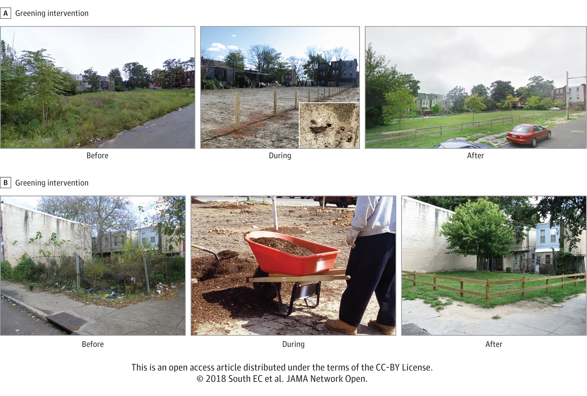 turning vacant lots into green spaces can improve mental health Turning Vacant Lots Into Green Spaces Can Improve Mental Health 07 20 jno greening