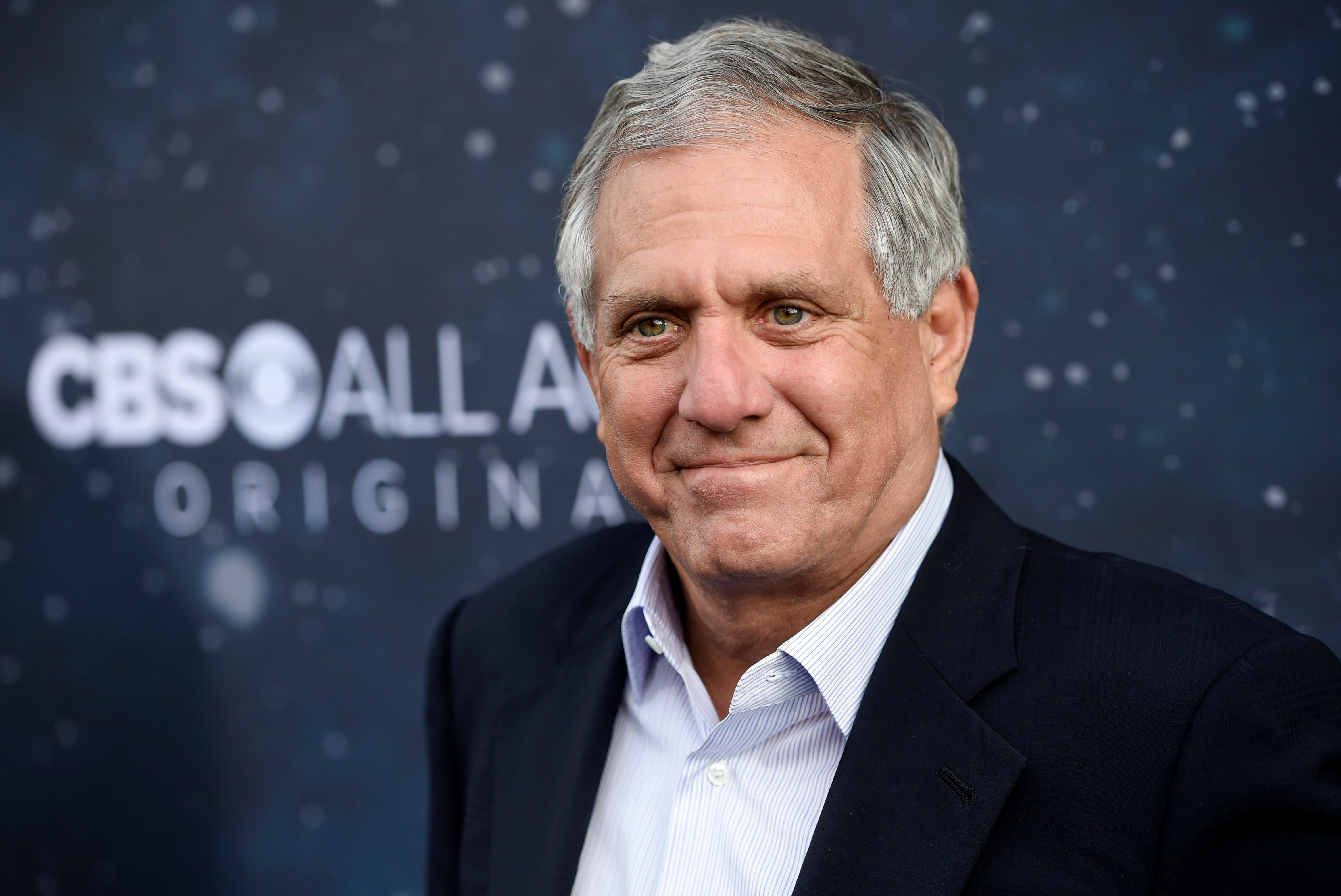 Les Moonves, chairman and CEO of CBS Corporation, poses at the premiere of the new television series  Star Trek: Discovery , in Los Angeles, LA Premiere of  Star Trek: Discovery , Los Angeles, September 19, 2017.
