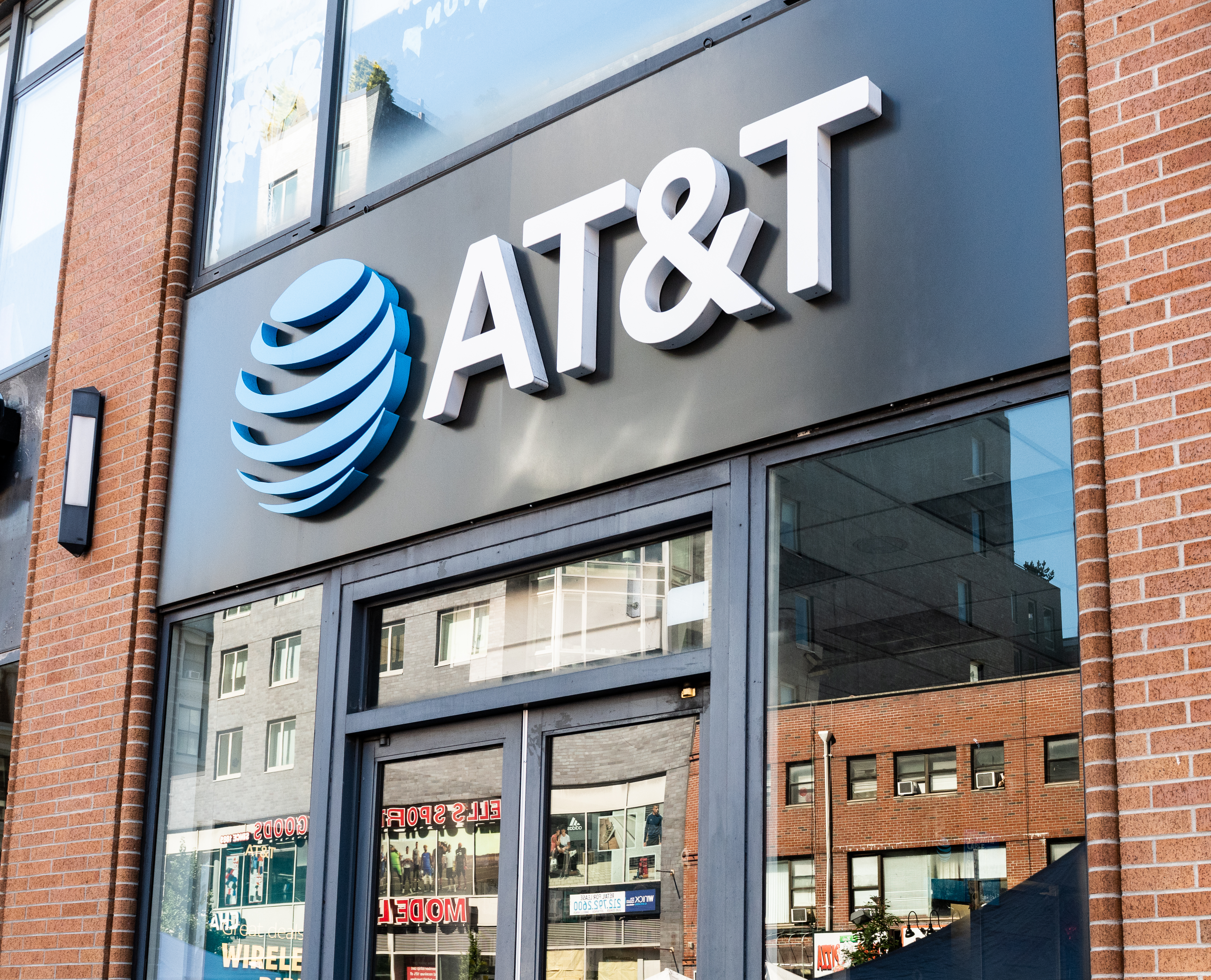 AT&T store in New York City on July 8, 2018.