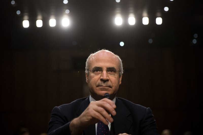 William Browder, chief executive officer of Hermitage Capital Management, takes his seat as he arrives for a Senate Judiciary Committee hearing titled 'Oversight of the Foreign Agents Registration Act and Attempts to Influence U.S. Elections' on July 27, 2017 in Washington, D.C.