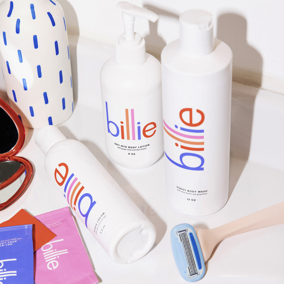 Billie products.