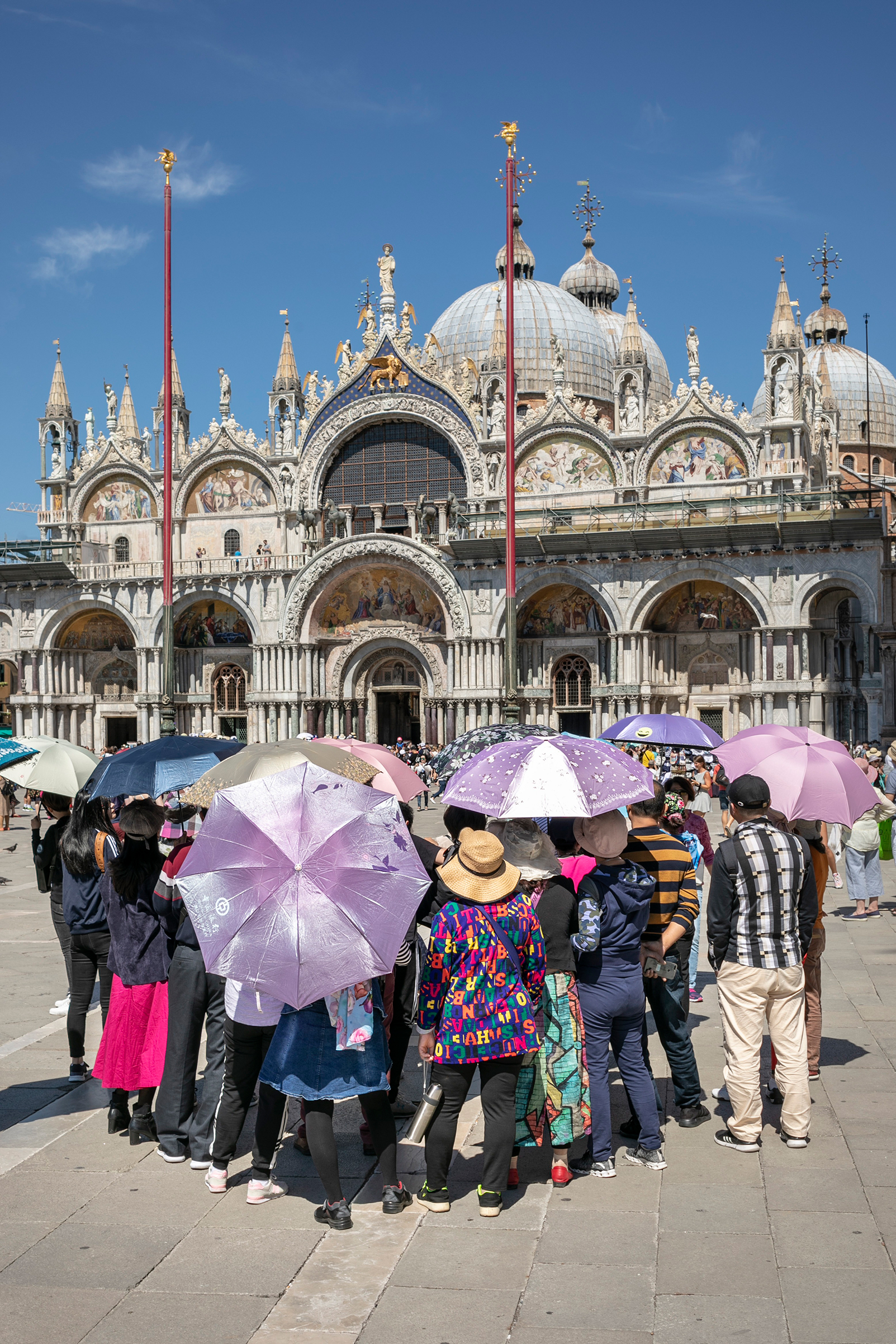 In the spring, Venice introduced temporary checkpoints to prevent day trippers from crowding especially busy areas