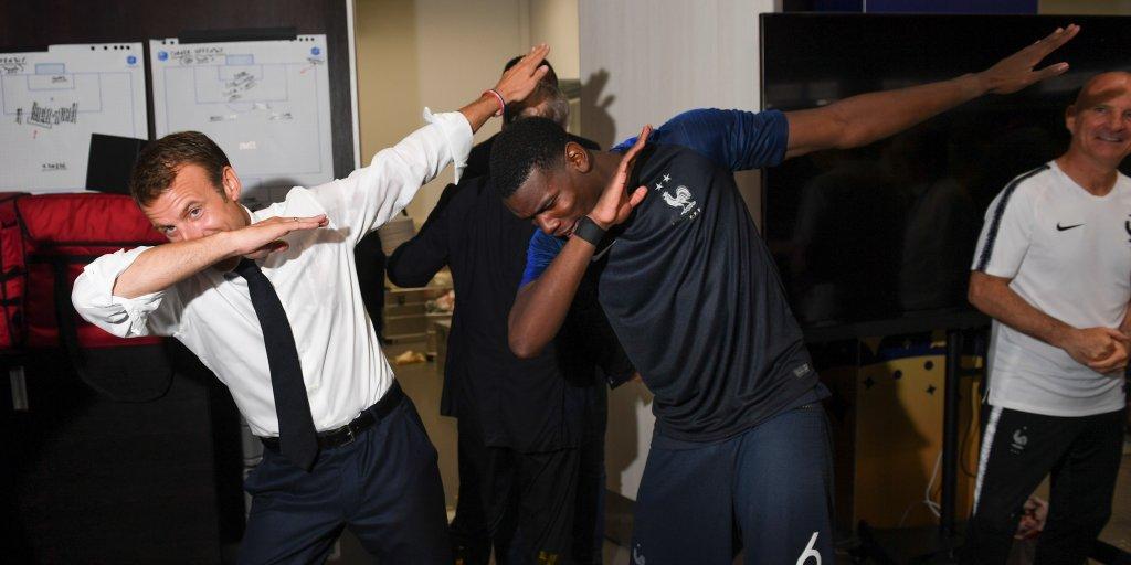 Macron Celebration World Cup Includes The Most Joyful Photos Time