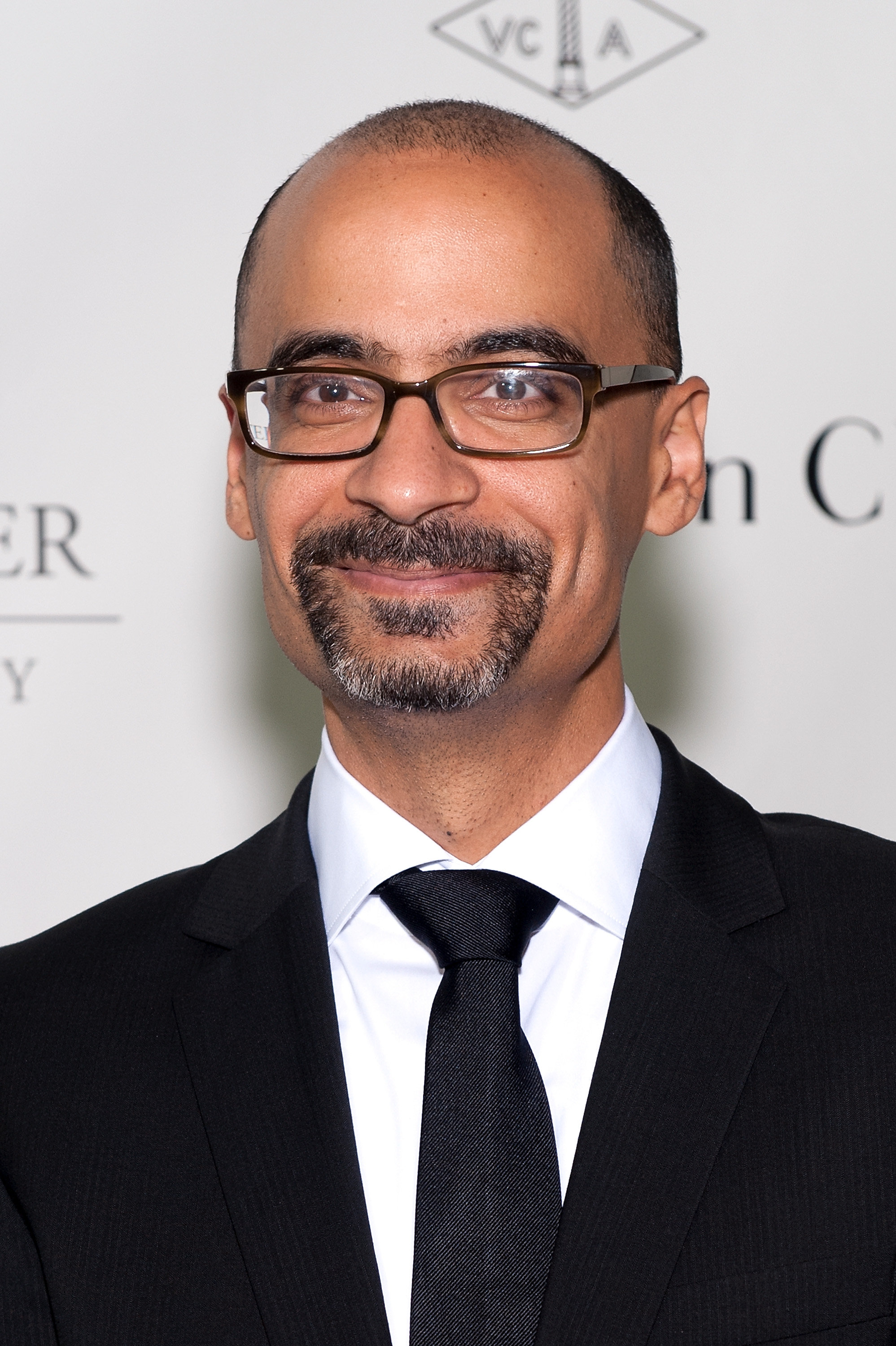Junot Diaz attends the 2013 Norman Mailer Center gala at the New York Public Library on October 17, 2013 in New York City.