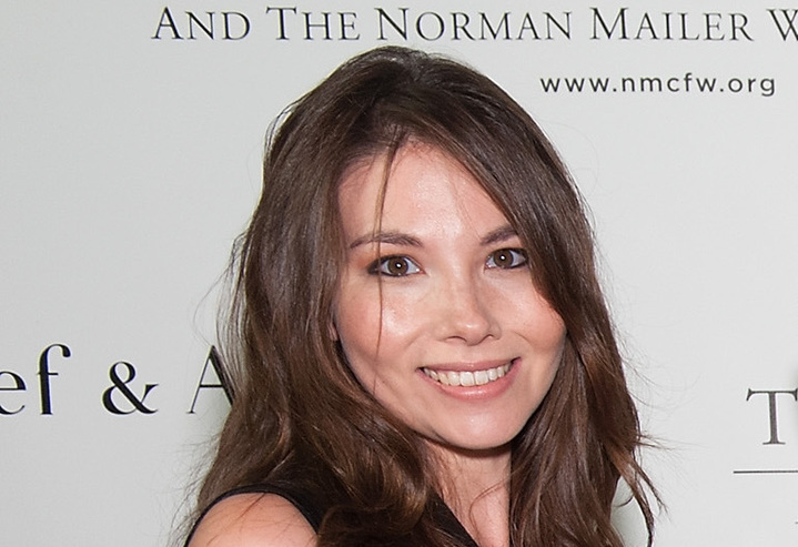 Marjorie Liu at the 2013 Norman Mailer Center gala at the New York Public Library on October 17, 2013.
