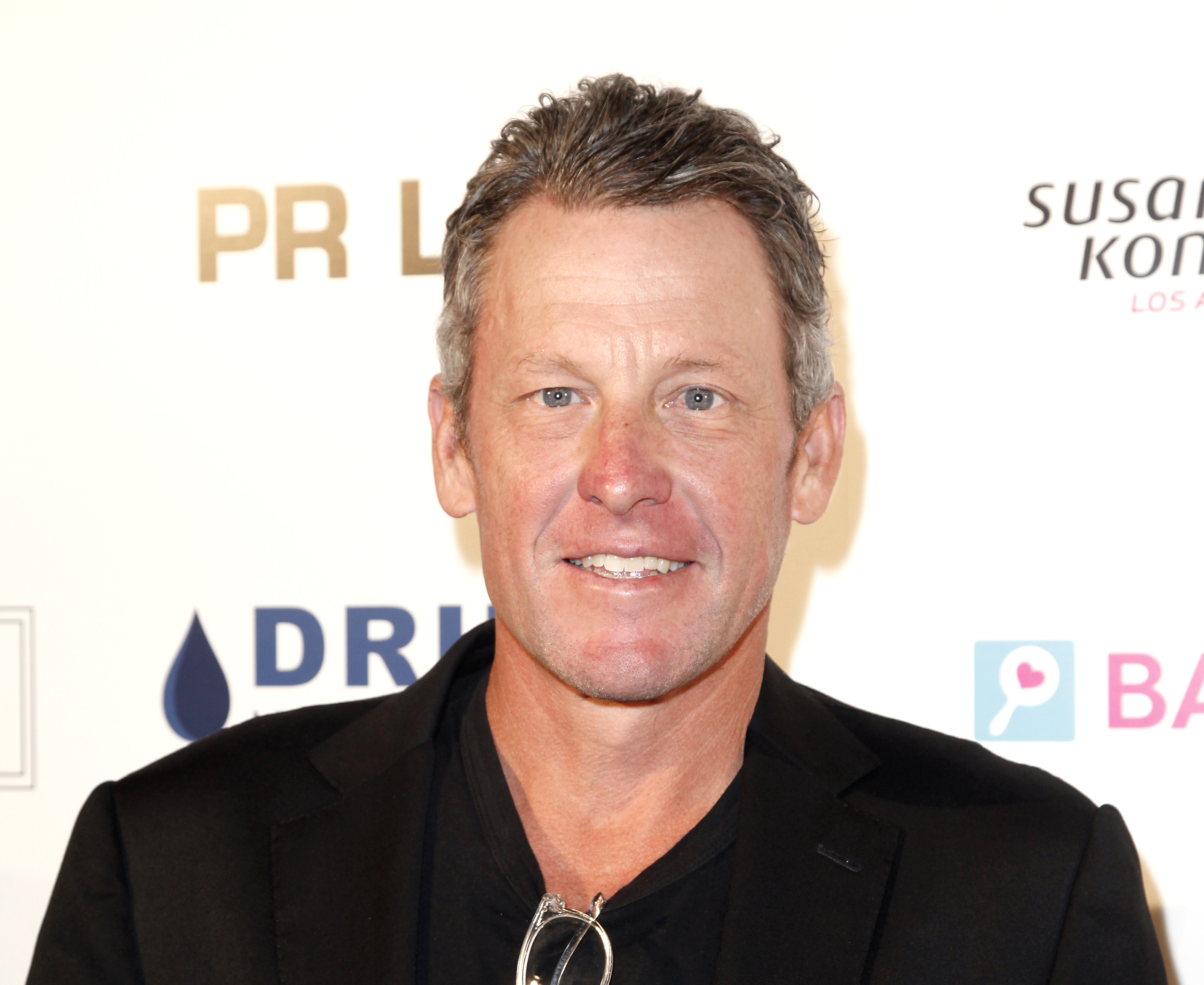 Lance Armstrong attend the Babes for Boobs live auction benefiting Susan G. Komen LA at El Rey Theatre on June 7, 2018 in Los Angeles, California.