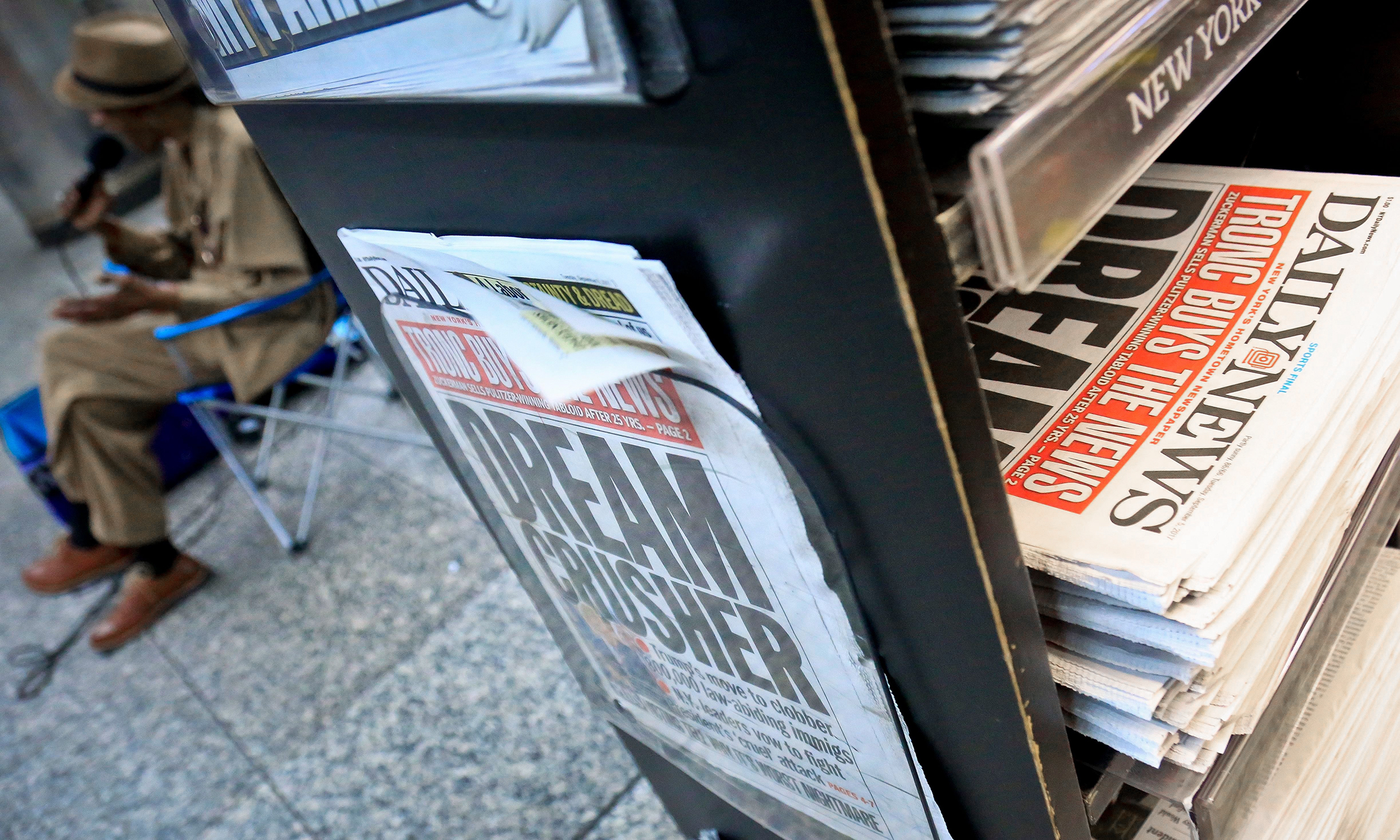 The New York Daily News covered its own sale last fall; the new owner has made drastic cuts