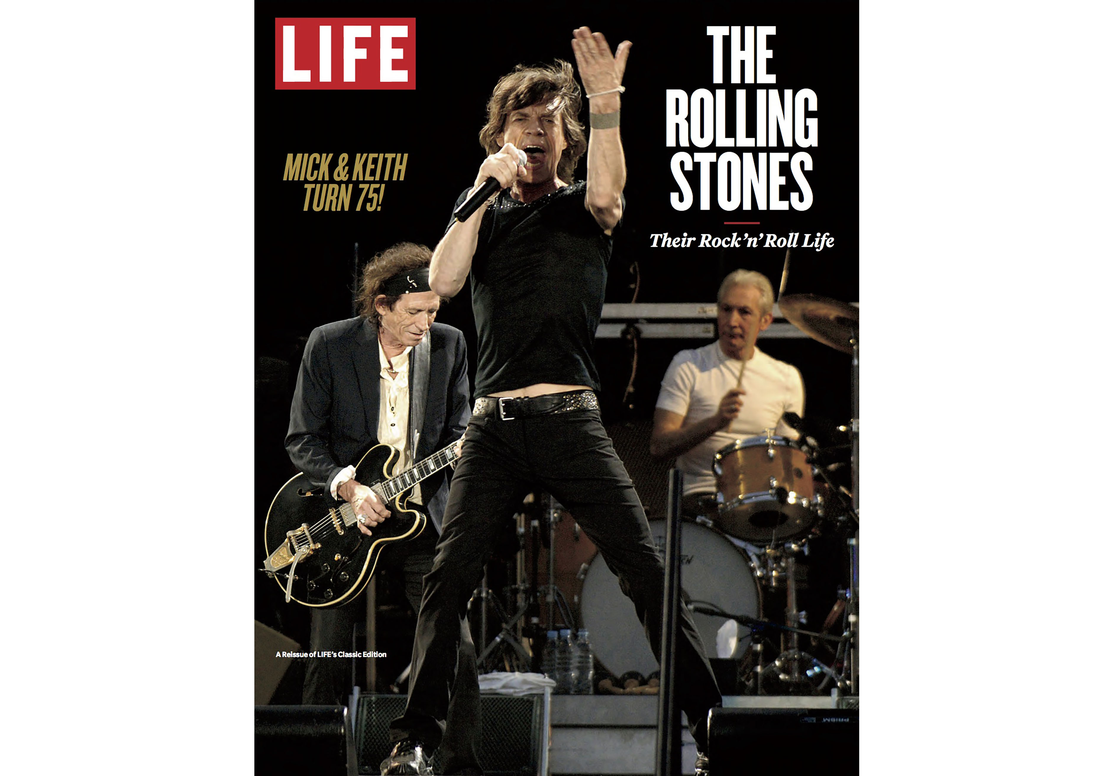 Mick Jagger on the cover of LIFE.