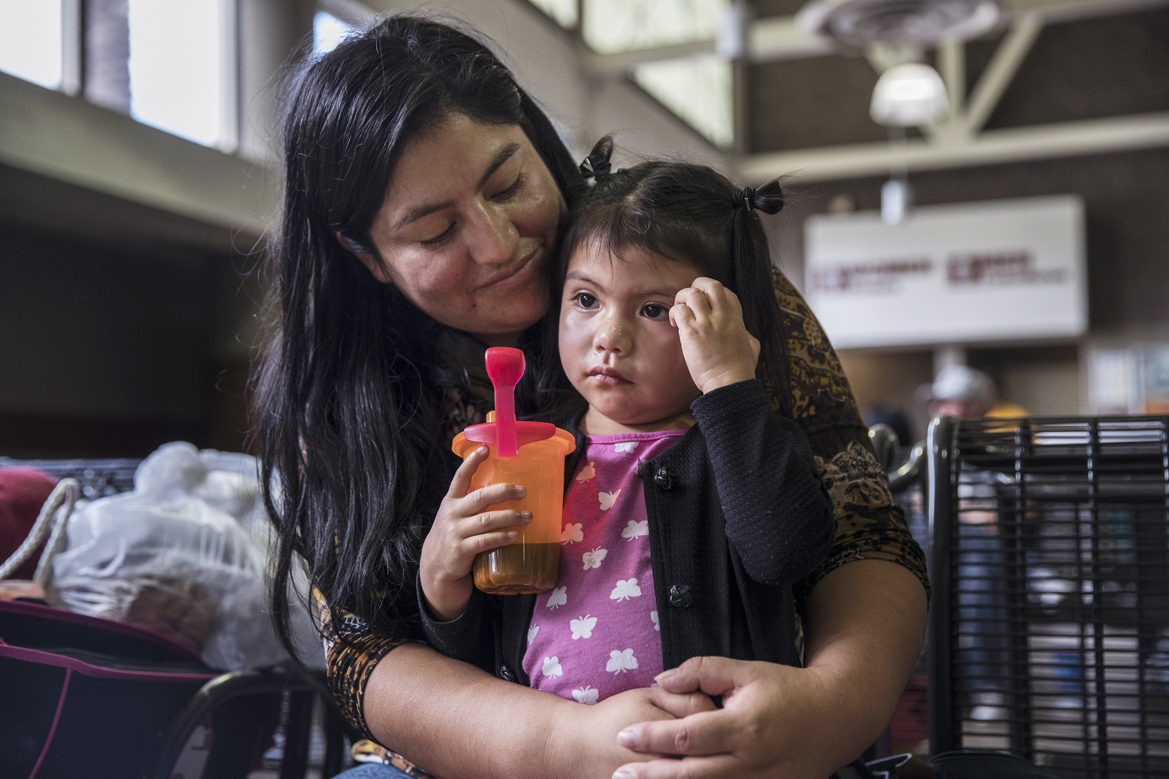 Milka Pablo was reunited with her daughter Darly, 3, but thousands of migrant families remain separated