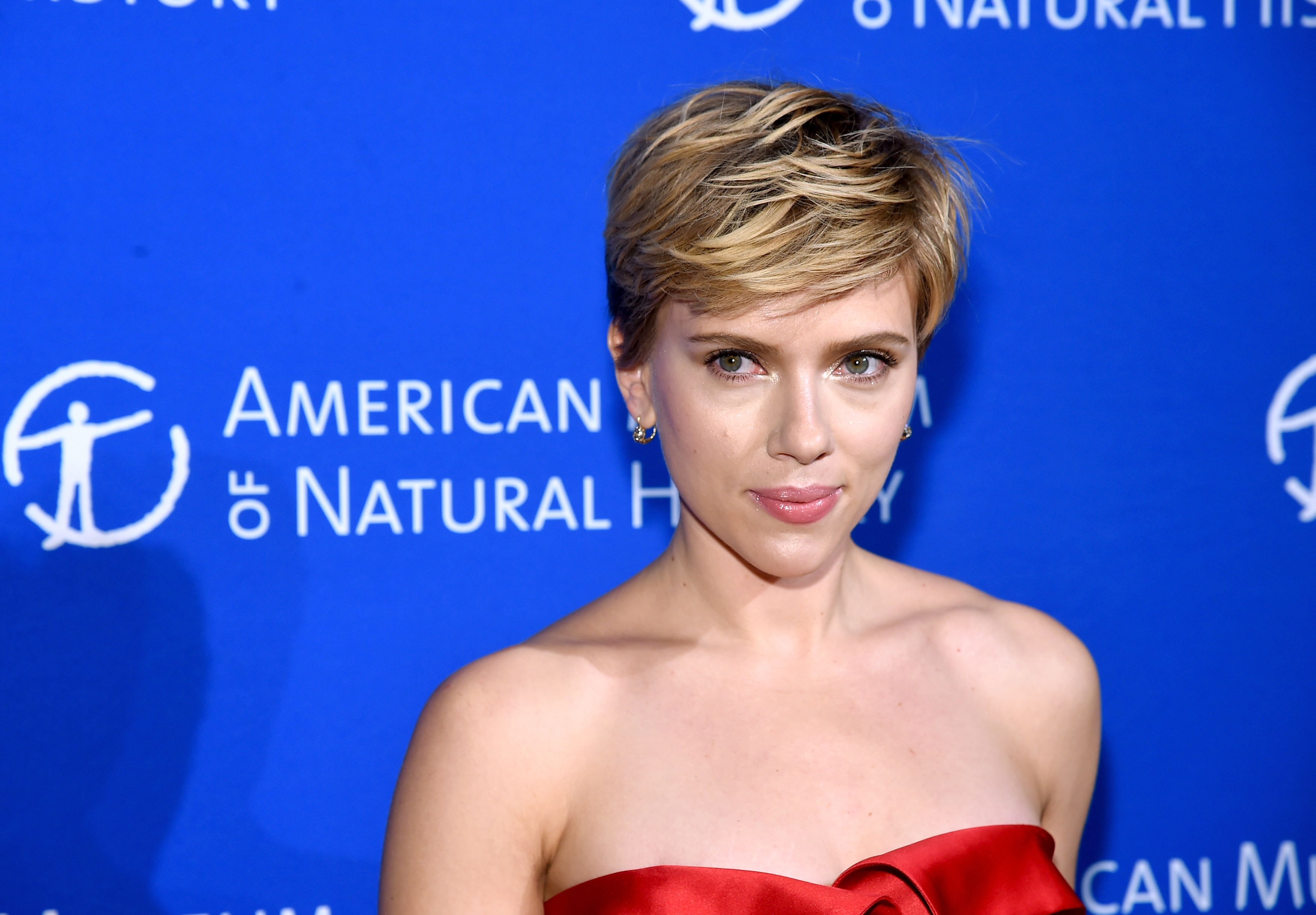 Scarlett Johansson attends the American Museum Of Natural History's 2017 Museum Gala at American Museum of Natural History on November 30, 2017 in New York City.