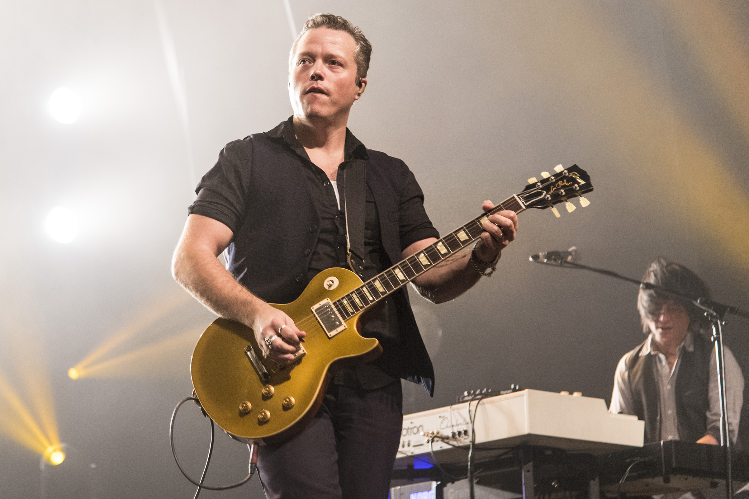Jason Isbell performs at Saenger Theatre Mobile on Jan. 7, 2018.