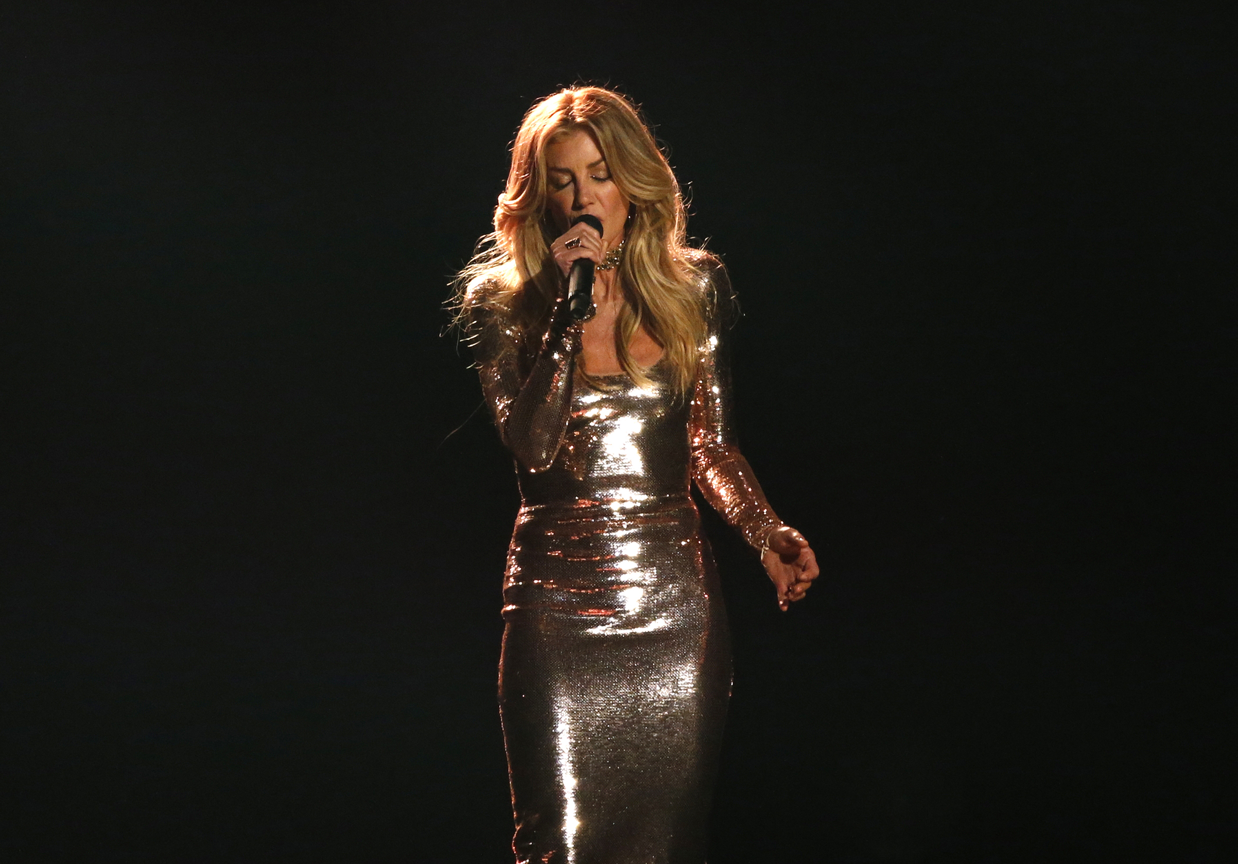 Faith Hill performs at the 52nd Academy of Country Music Awards on Feb. 2, 2017.
