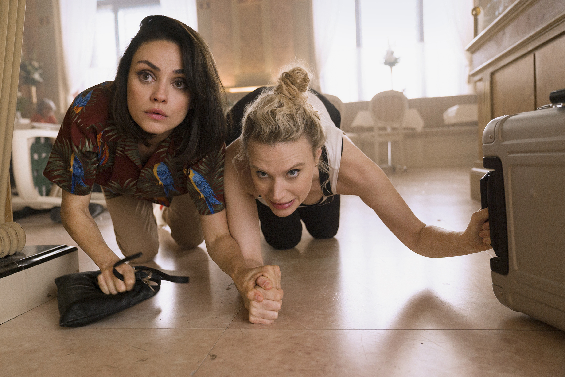 Mila Kunis and Kate McKinnon run for their lives in The Spy Who Dumped Me