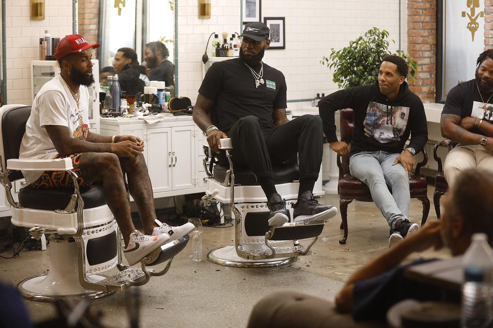 Odell Beckham Jr., LeBron James, Maverick Carter, Michael Bennett on The Shop