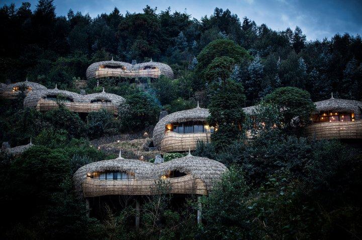 Bisate Lodge in Rwanda, Africa