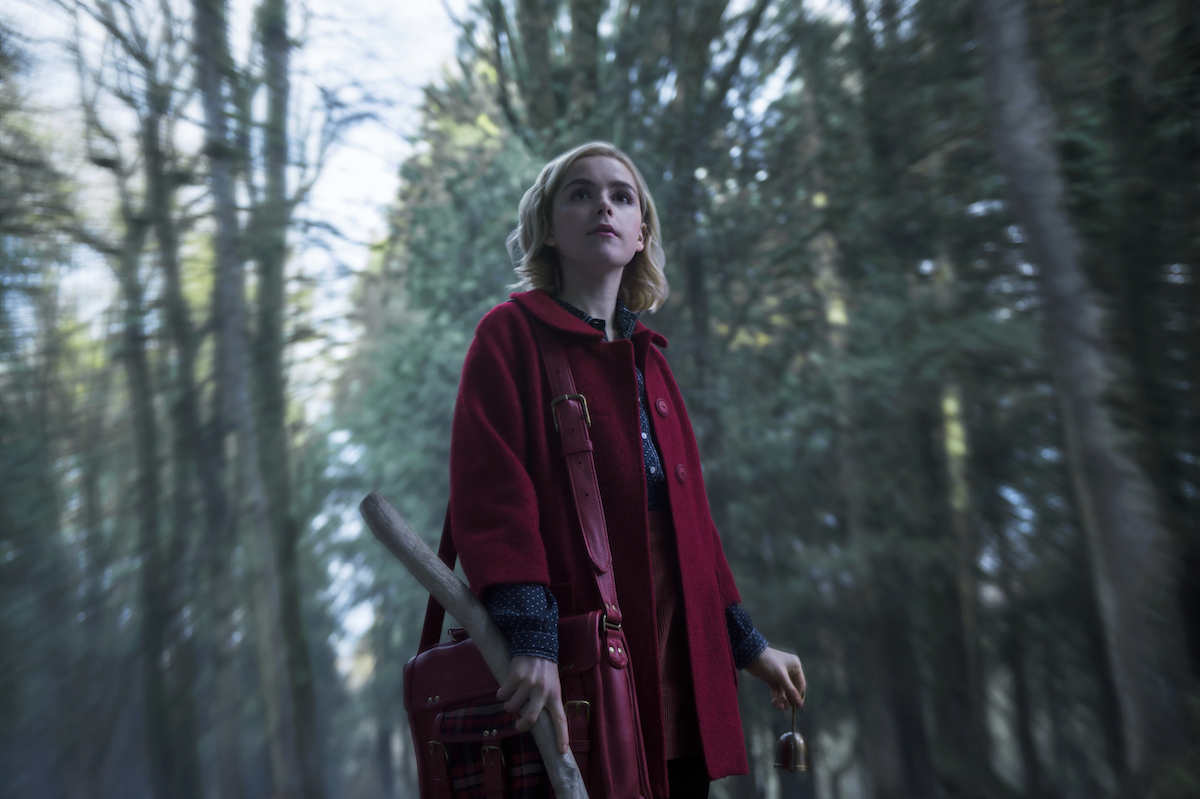 Kiernan Shipka in The Chilling Adventures of Sabrina