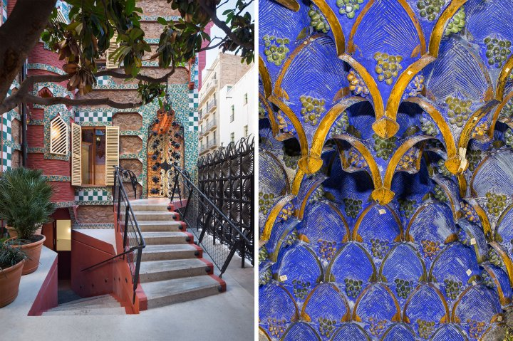 Casa Vicens Gaudi on Barcelona, Spain