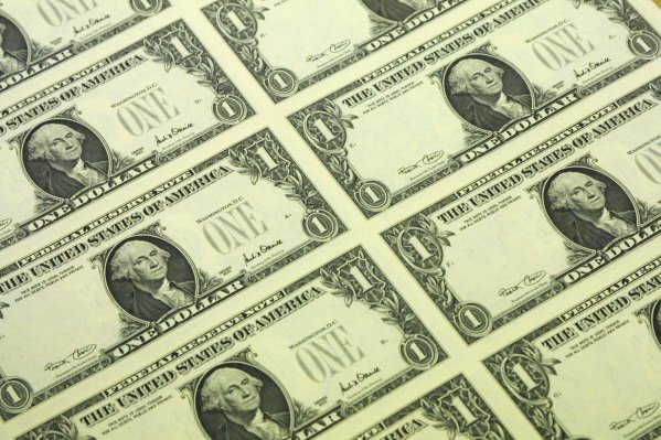 On The Money A Us Dollar Bill S Design