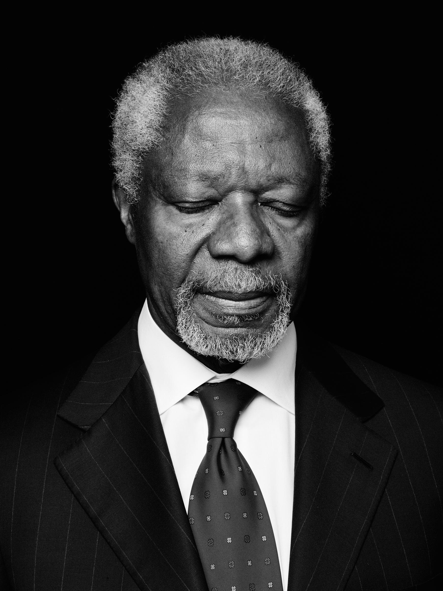Annan, former U.N. Secretary-General, pictured on Feb. 28, 2013