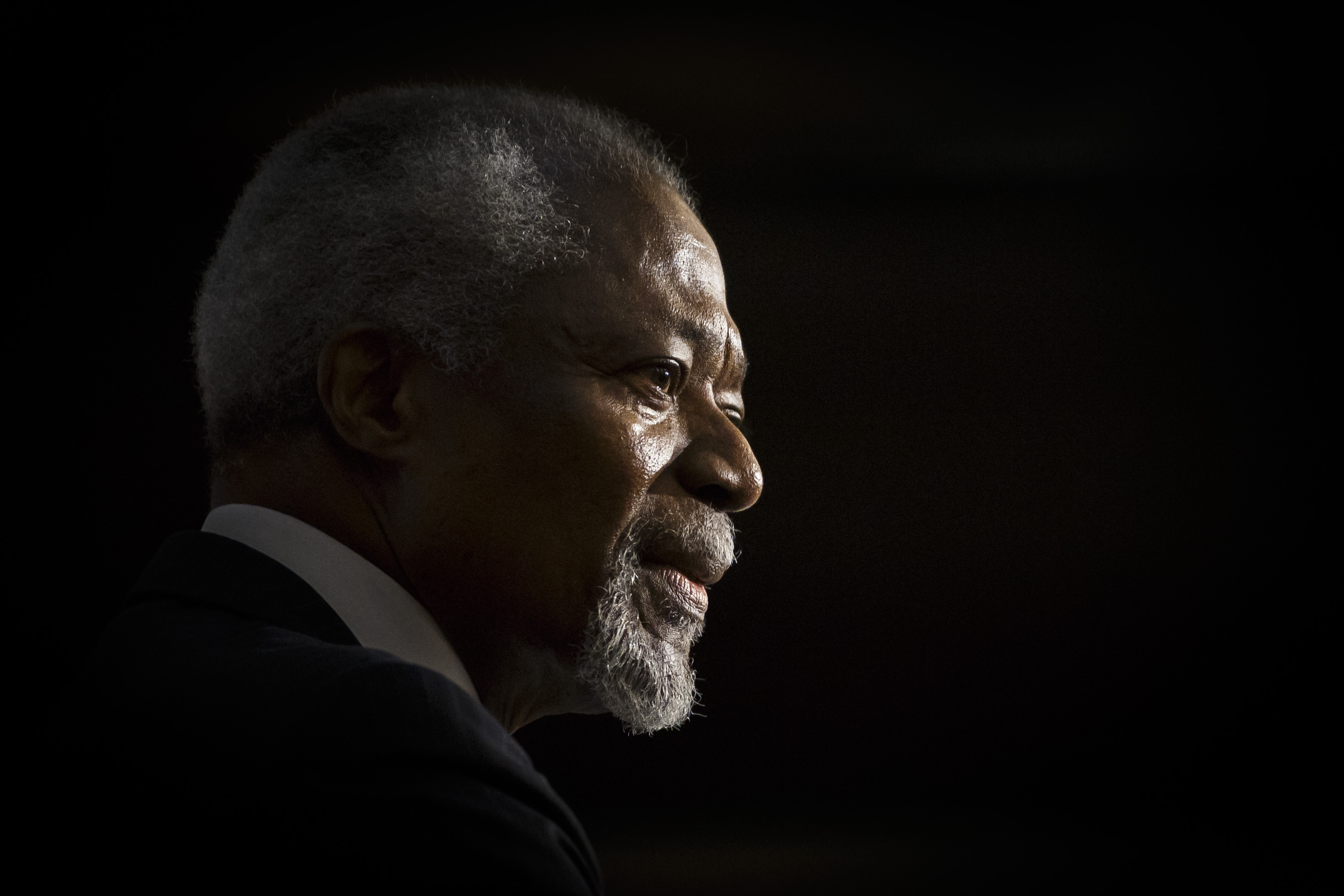 Kofi Annan, 7th Secretary-General of the United Nations, will give a lecture entitled  Looking for a New Global Order  at German Foreign Ministry on January 28, 2016 in Berlin, Germany.