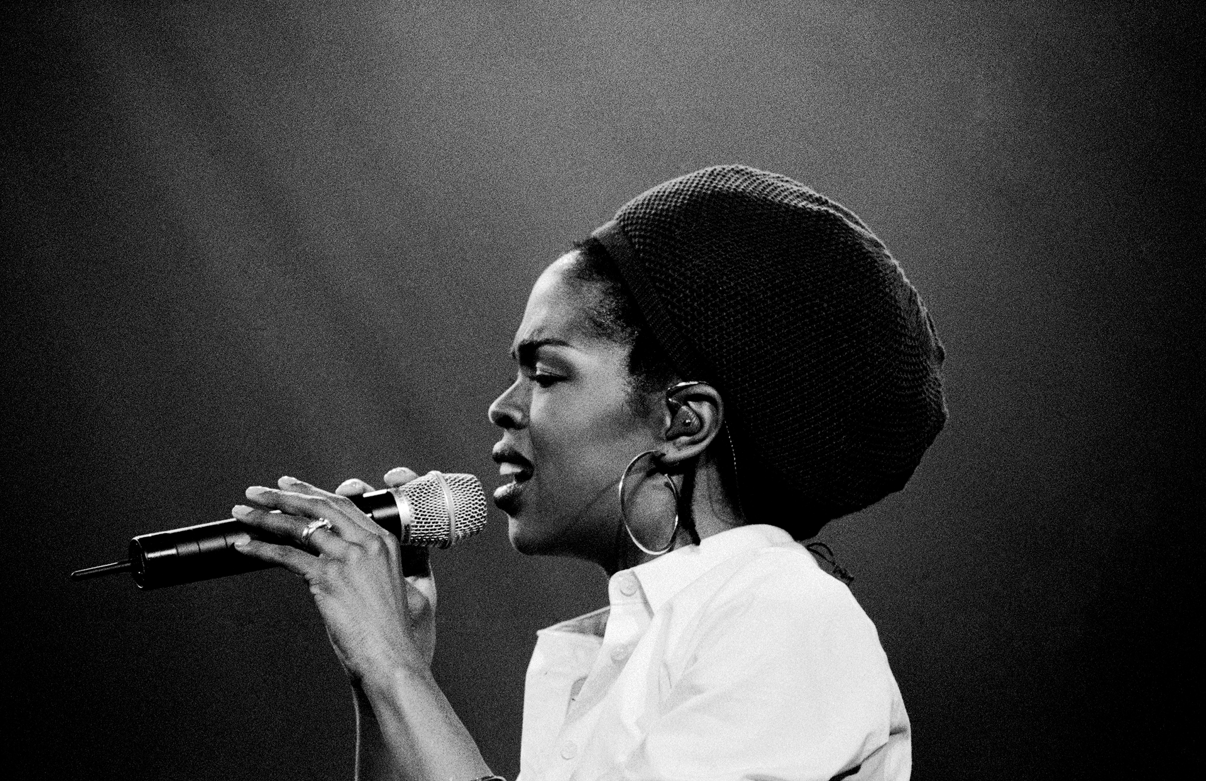 Lauryn Hill performing at Brixton Academy during the Miseducation of Lauryn Hill Tour in London on Feb 5, 1999.