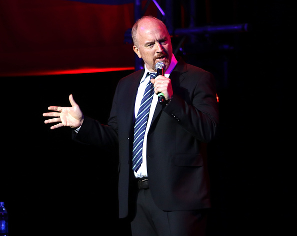 Louis C.K. attends the 10th Annual Stand Up For Heroes show at The Theater at Madison Square Garden on November 1, 2016 in New York City.