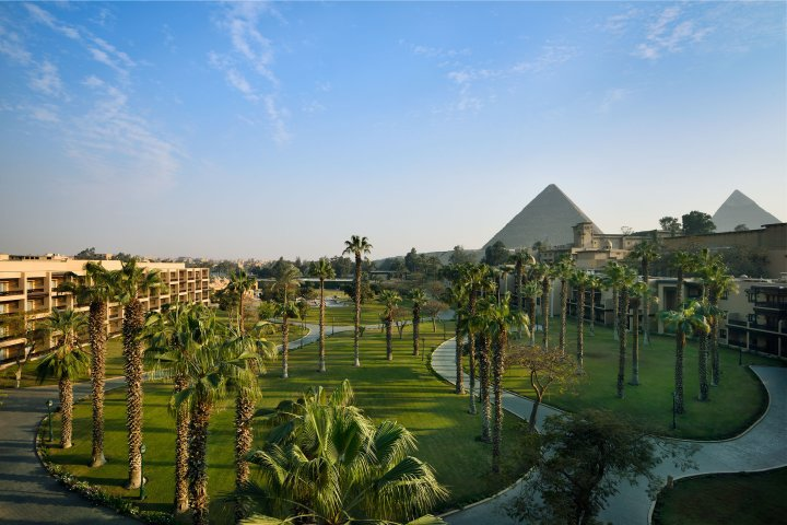 The Marriott Mena House in Cairo