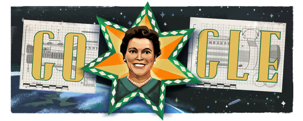 Google Doodle celebrates the 110th birthday of Mary G. Ross on August 9, 2018.