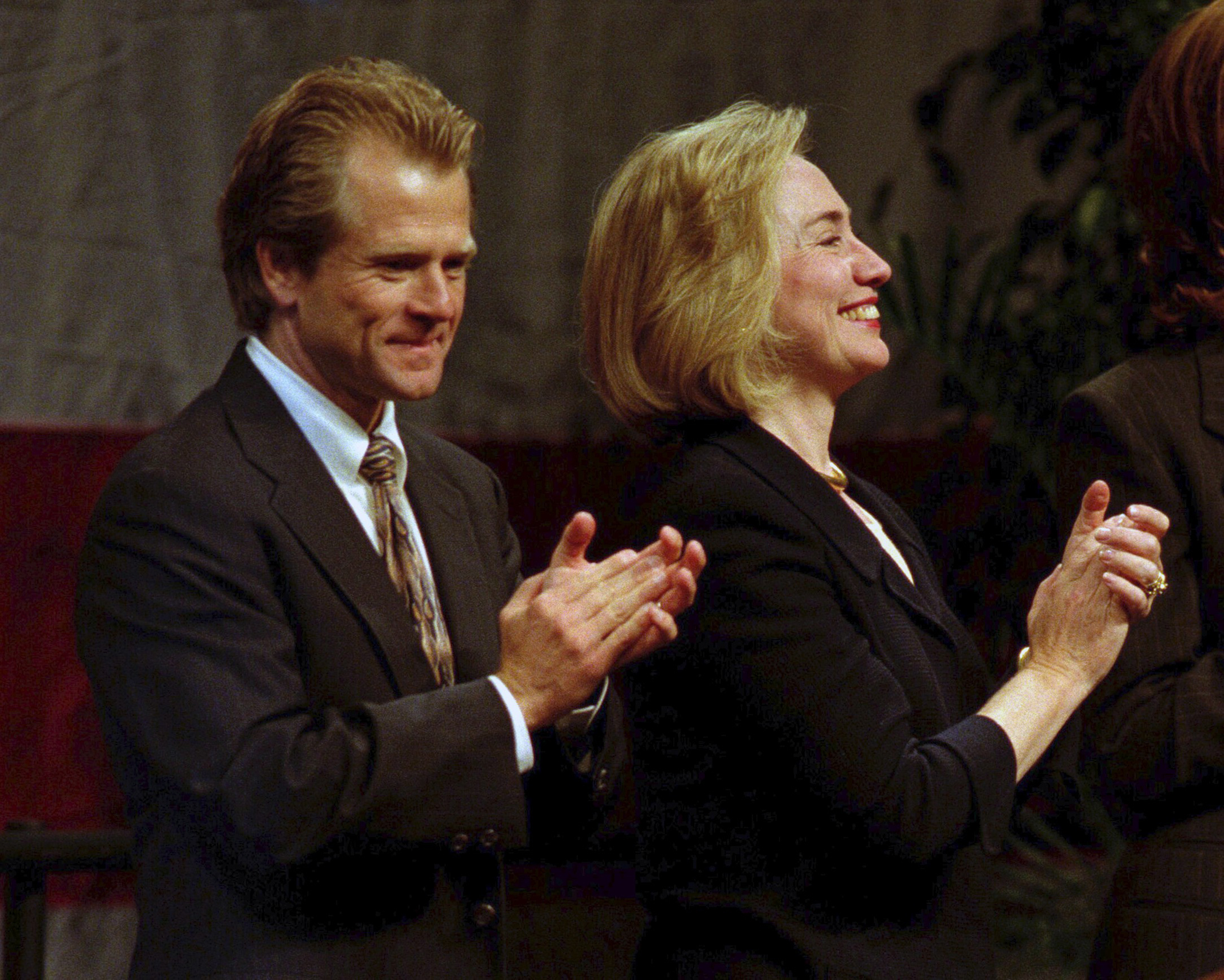 Hillary Clinton campaigned for Navarro in 1996, the year he ran for Congress as a progressive Democrat