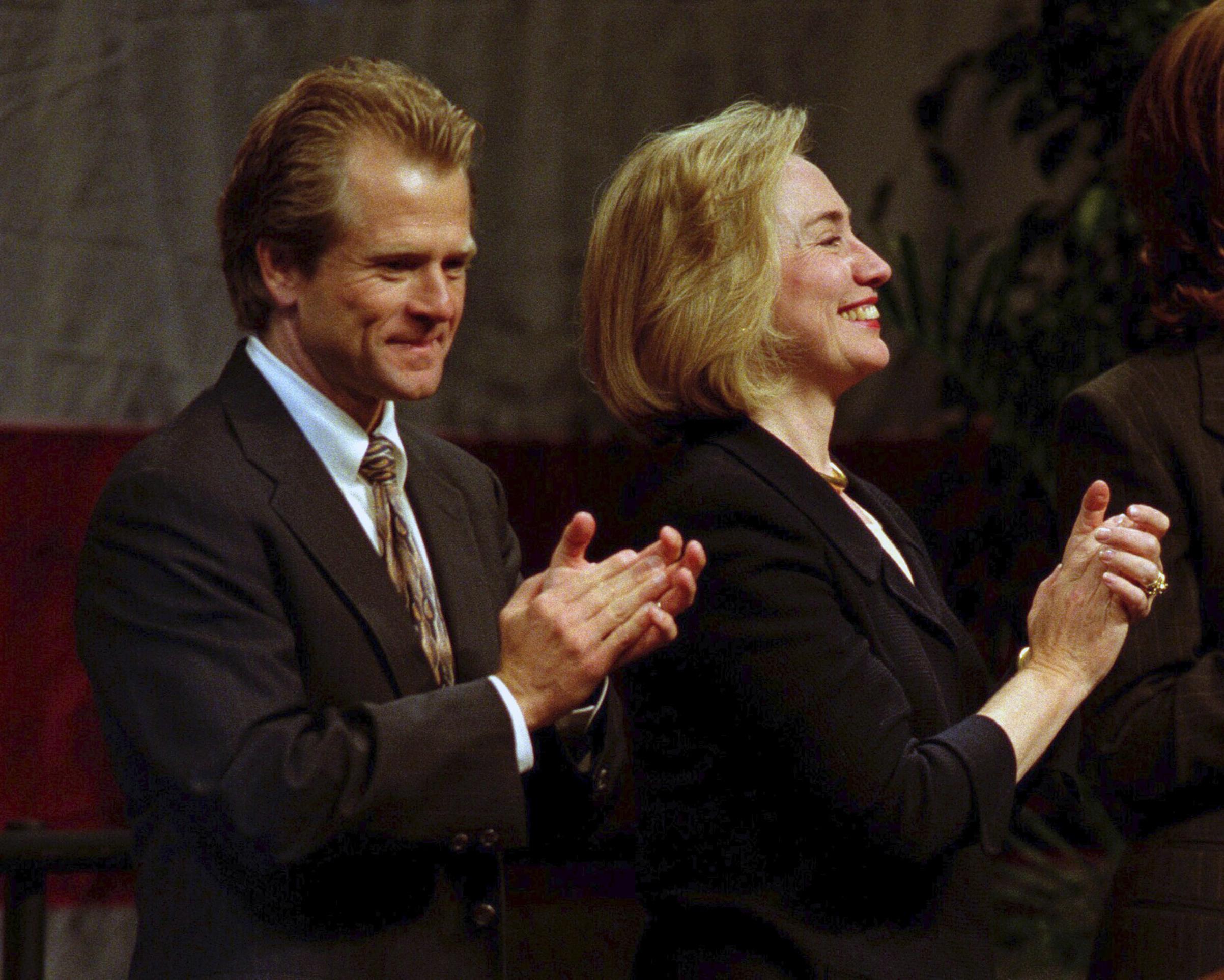 Hillary Clinton campaigned for Navarro in 1996, the year he ran for Congress as a progressive Democrat