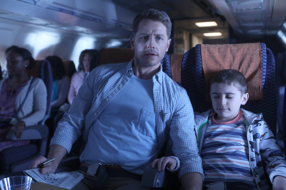 Josh Dallas and Jack Messina in Manifest