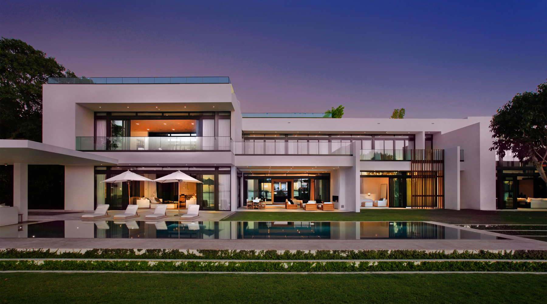 ONE Sotheby's sold this nine bedroom, $30 million home in Miami Beach, previously owned by Alex Rodriguez.