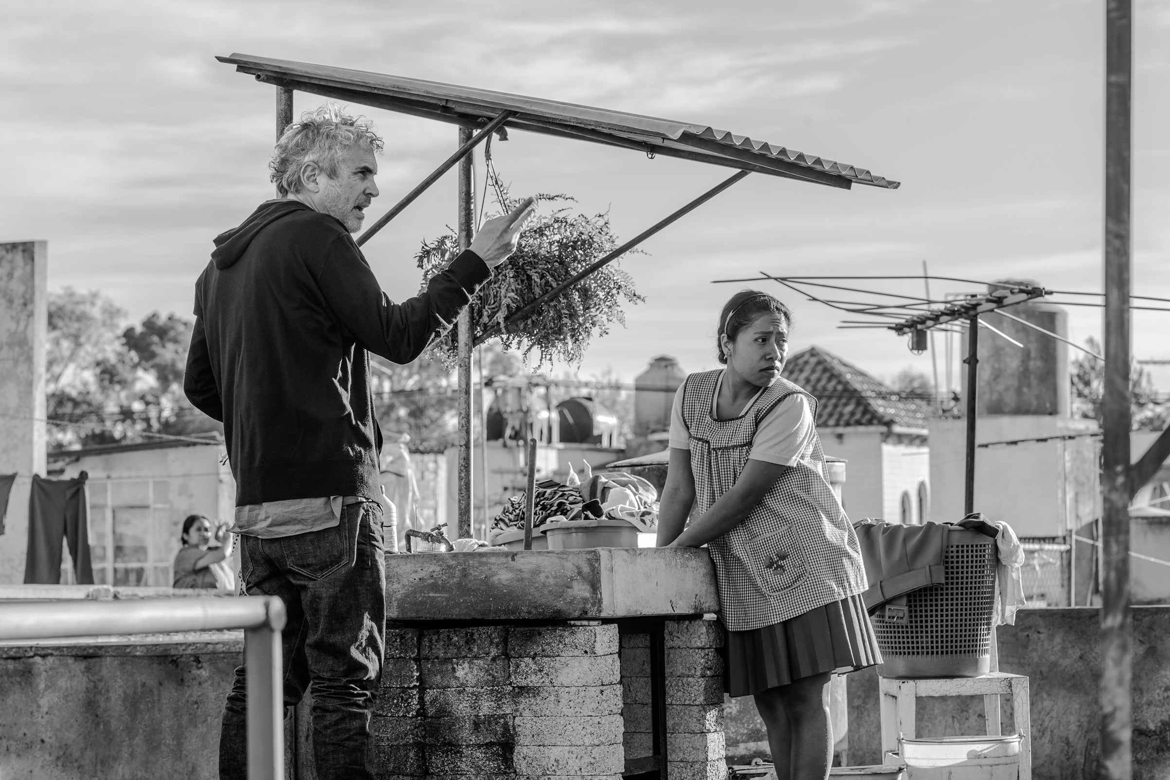 Behind the scenes of ROMA by director Alfonso Cuarón.