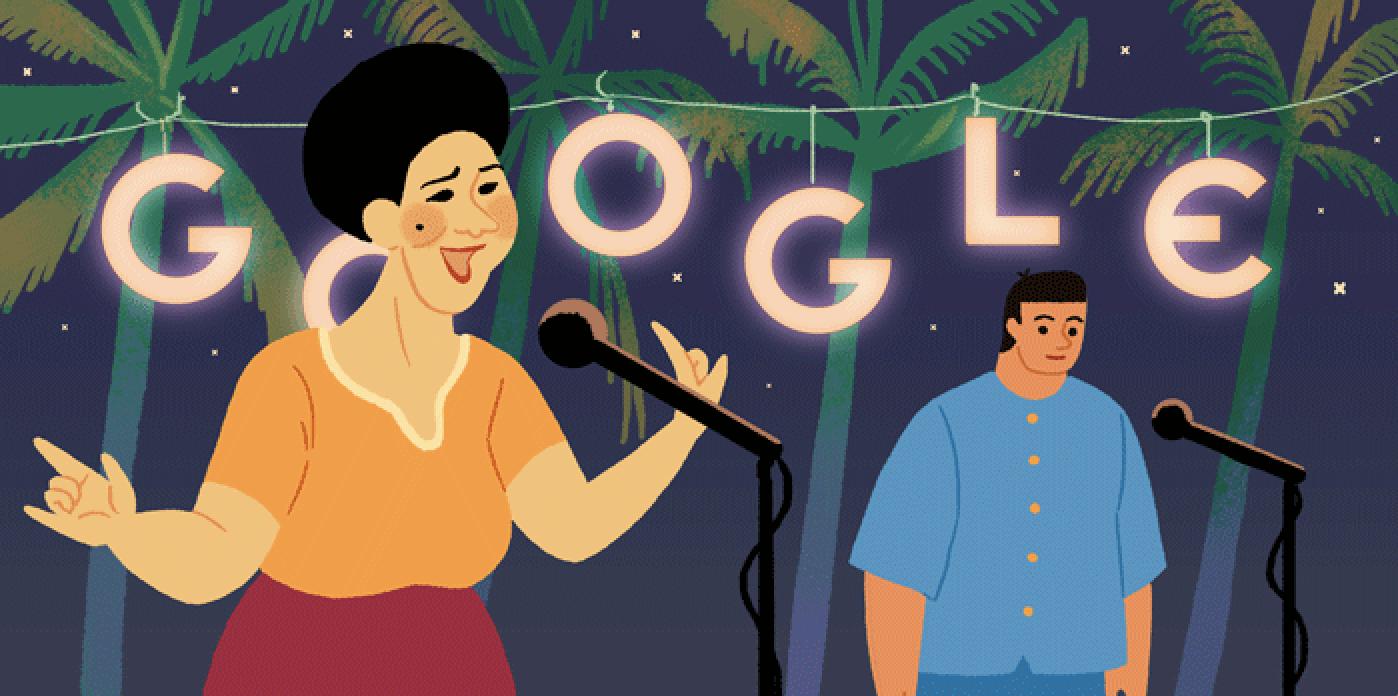 Google Doodle celebrates Prayoon Yomyiam's 85th Birthday on Aug. 30, 2018.