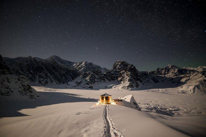 The remote Sheldon Chalet lodge in Alaska