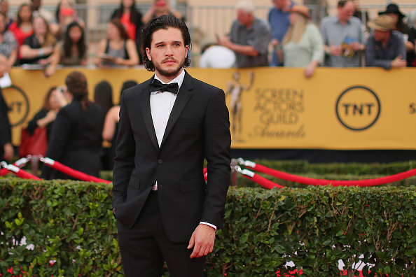 Actor Kit Harington attends TNT's 21st Annual Screen Actors Guild Awards at The Shrine Auditorium on January 25, 2015 in Los Angeles, California.