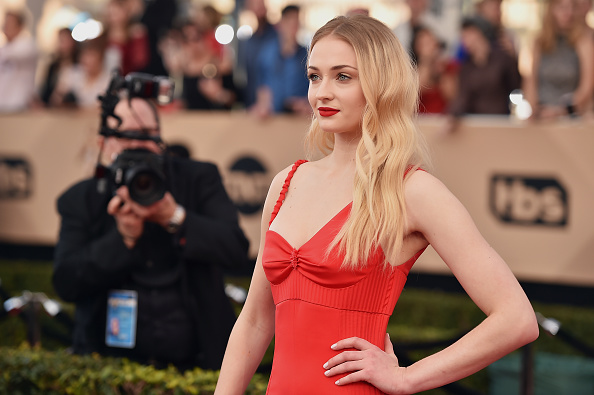 Actor Sophie Turner attends the 23rd Annual Screen Actors Guild Awards at The Shrine Expo Hall on January 29, 2017 in Los Angeles, California.