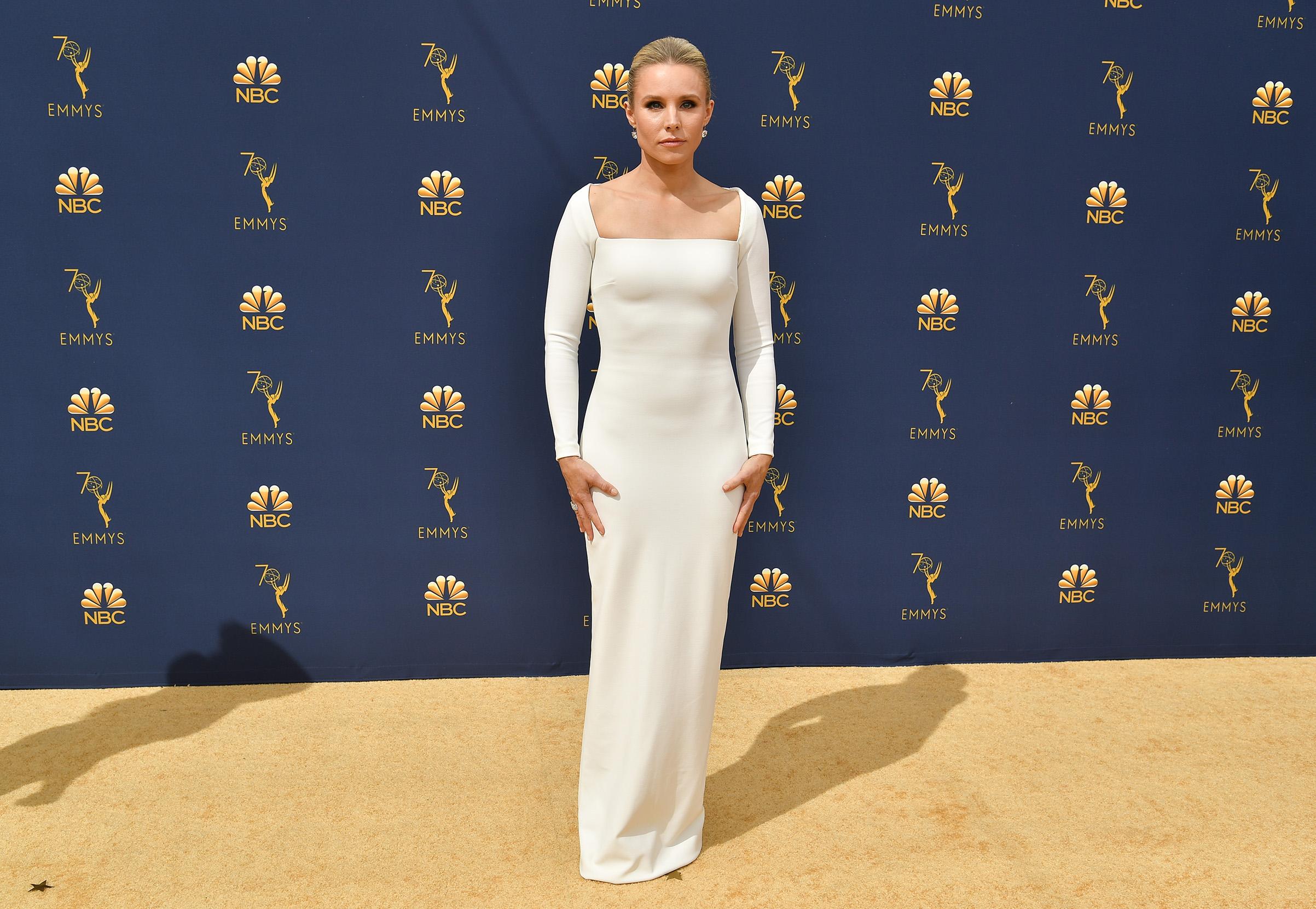 Kristen Bell at the 70th Primetime Emmy on Sept. 17.
