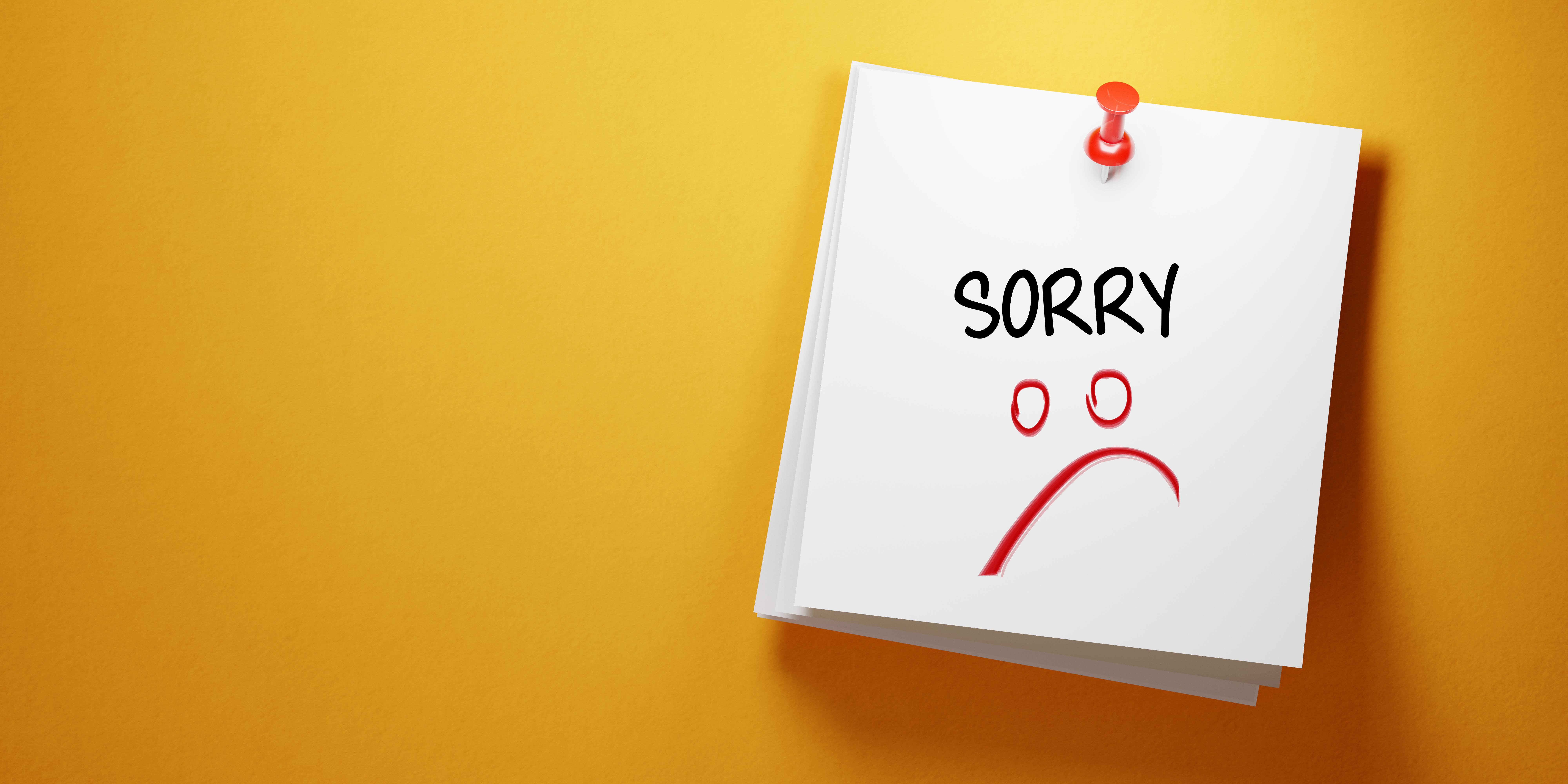 Boyfriend say your to to to things apologize 21 Apology