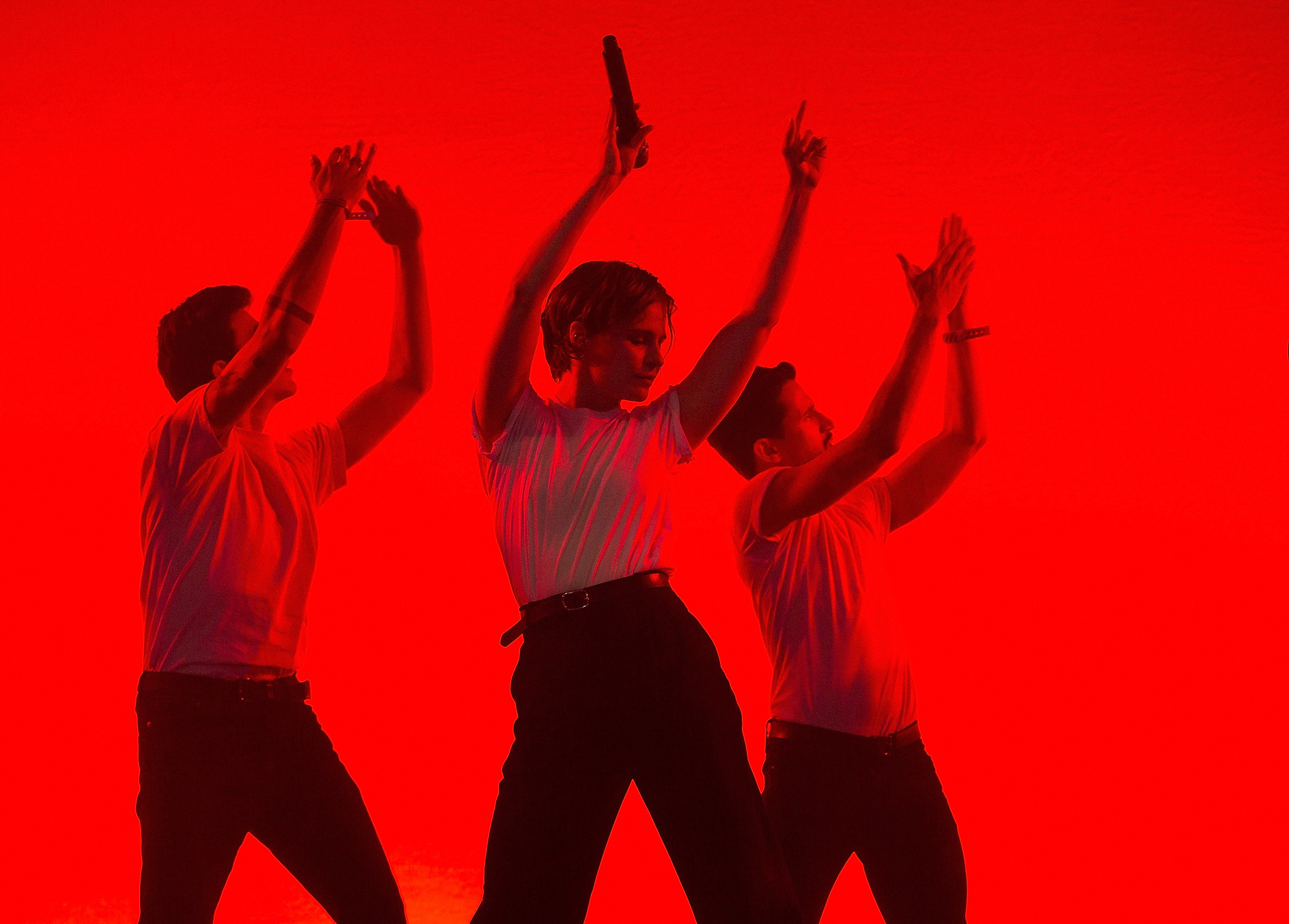 Christine and the Queens take center stage.