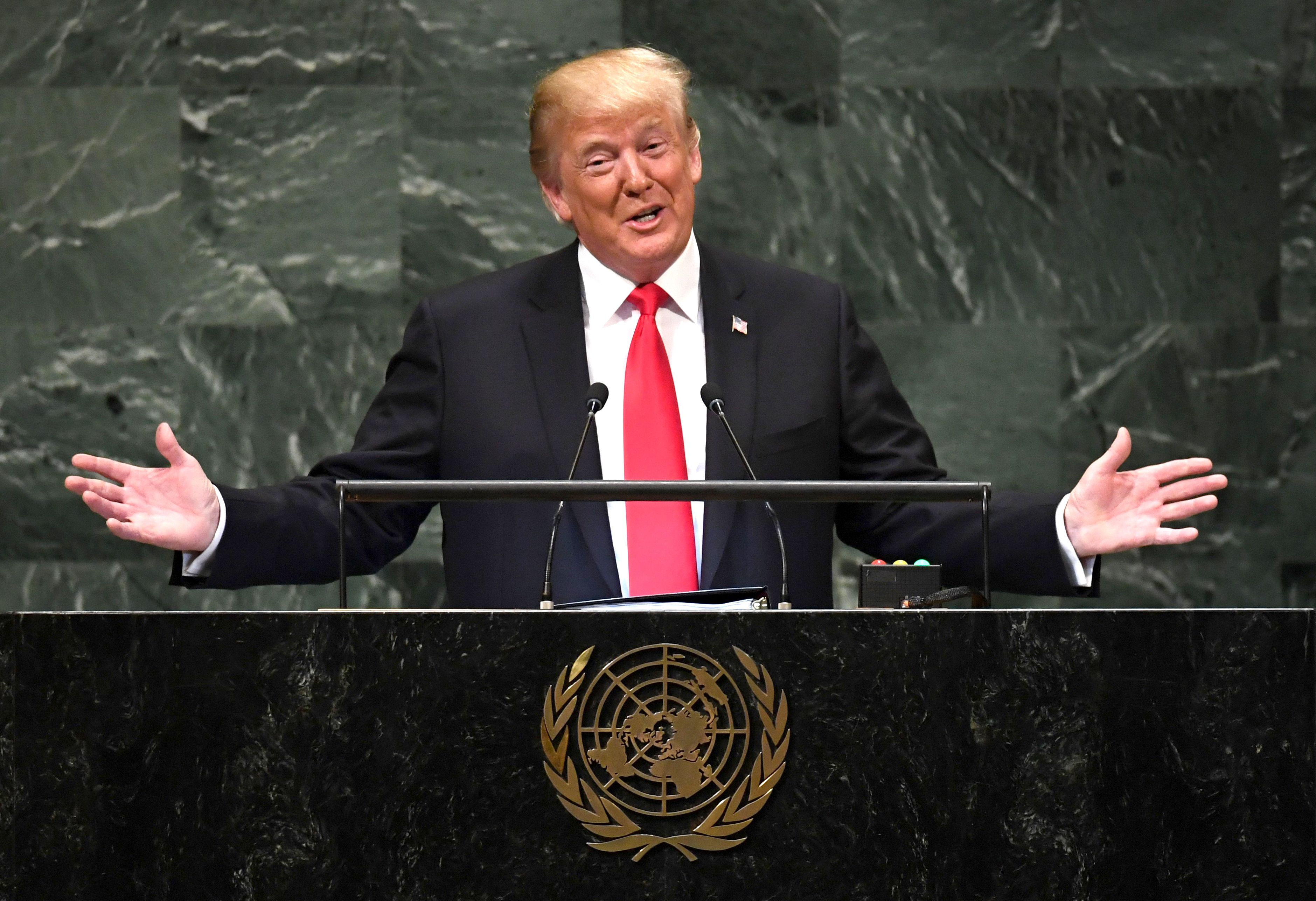 We Reject Globalism.' President Trump Took 'America First' to the United Nations | Time